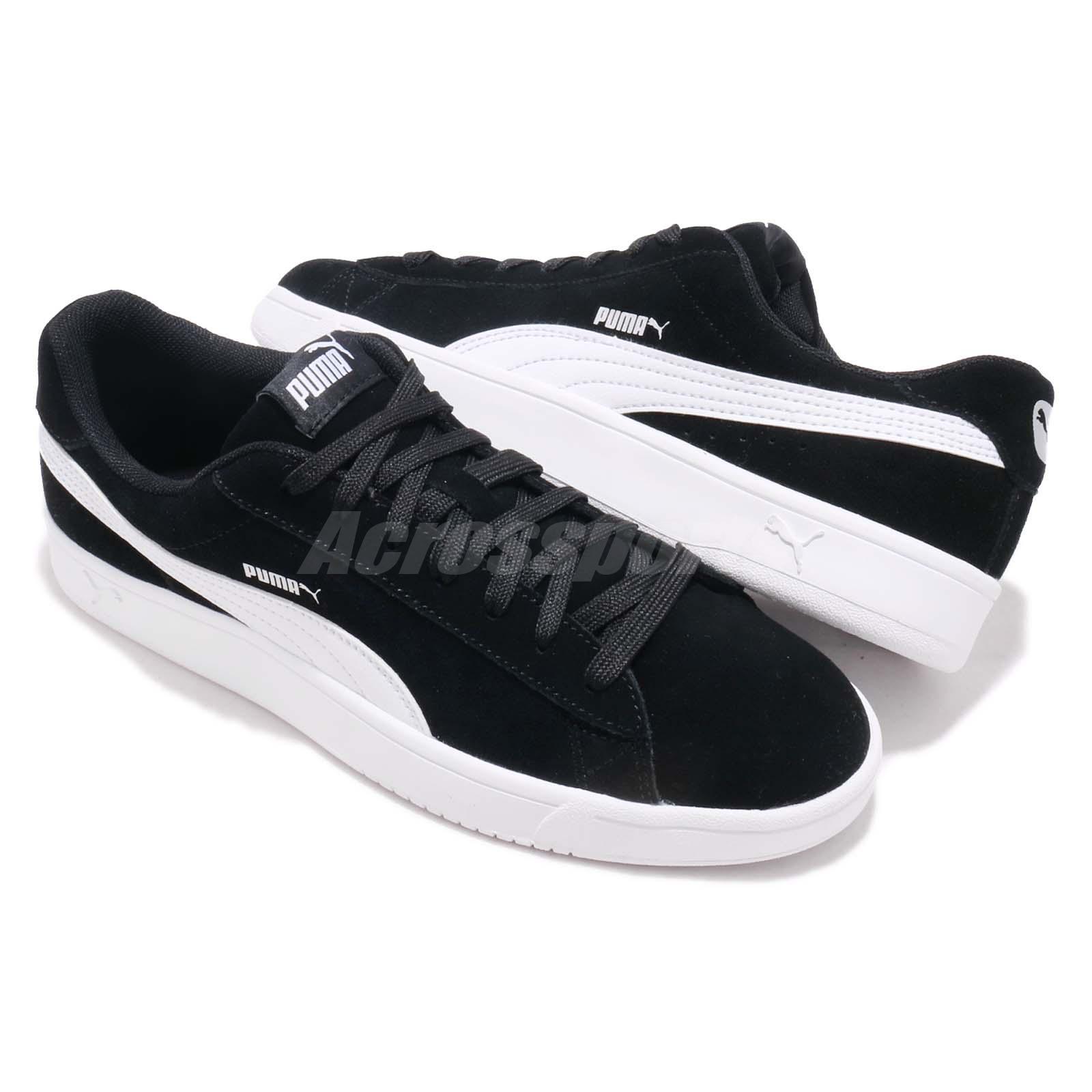 4c7b56718235 Puma Court Breaker Derby Black White Men Casual Shoes Sneakers ...