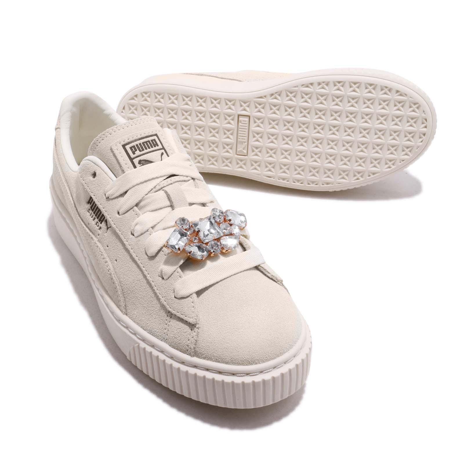 Puma Suede Platform Gem Wns Ivory Womens Lifestyle Casual Shoes ... f08a13fdb