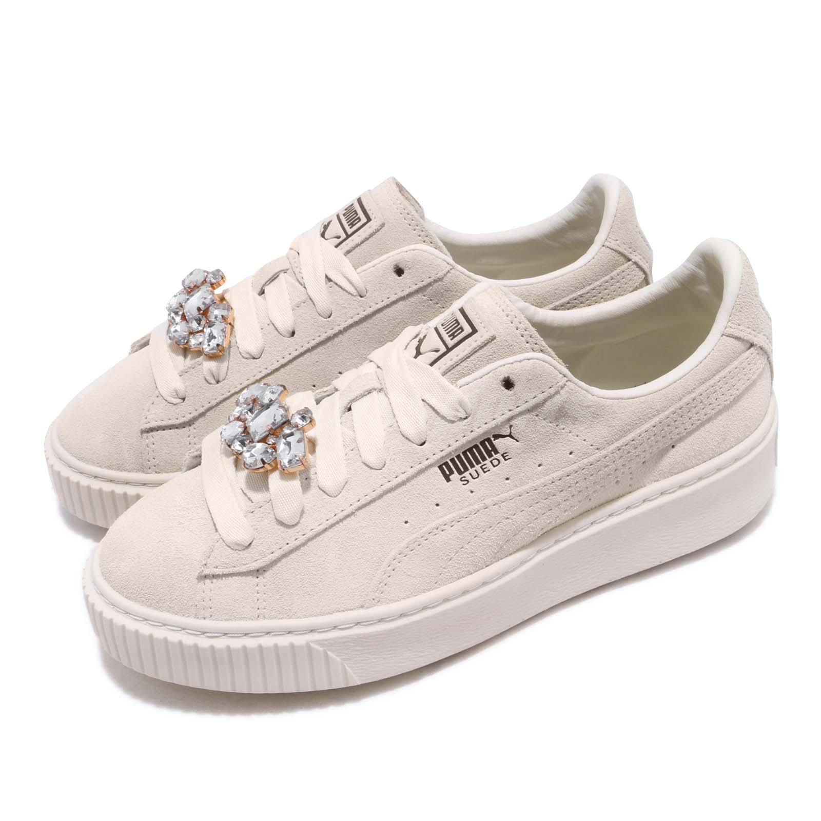 Details about Puma Suede Platform Gem Wns Ivory Womens Lifestyle Casual Shoes 367452-03