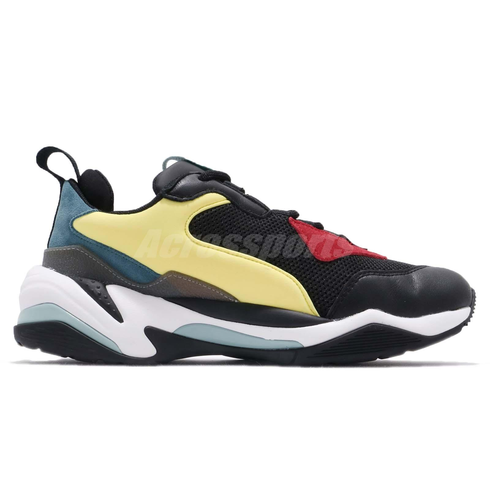 Dettagli su Puma Thunder Spectra OG Black White Green Red Men Chunky Daddy Shoes 367516 01