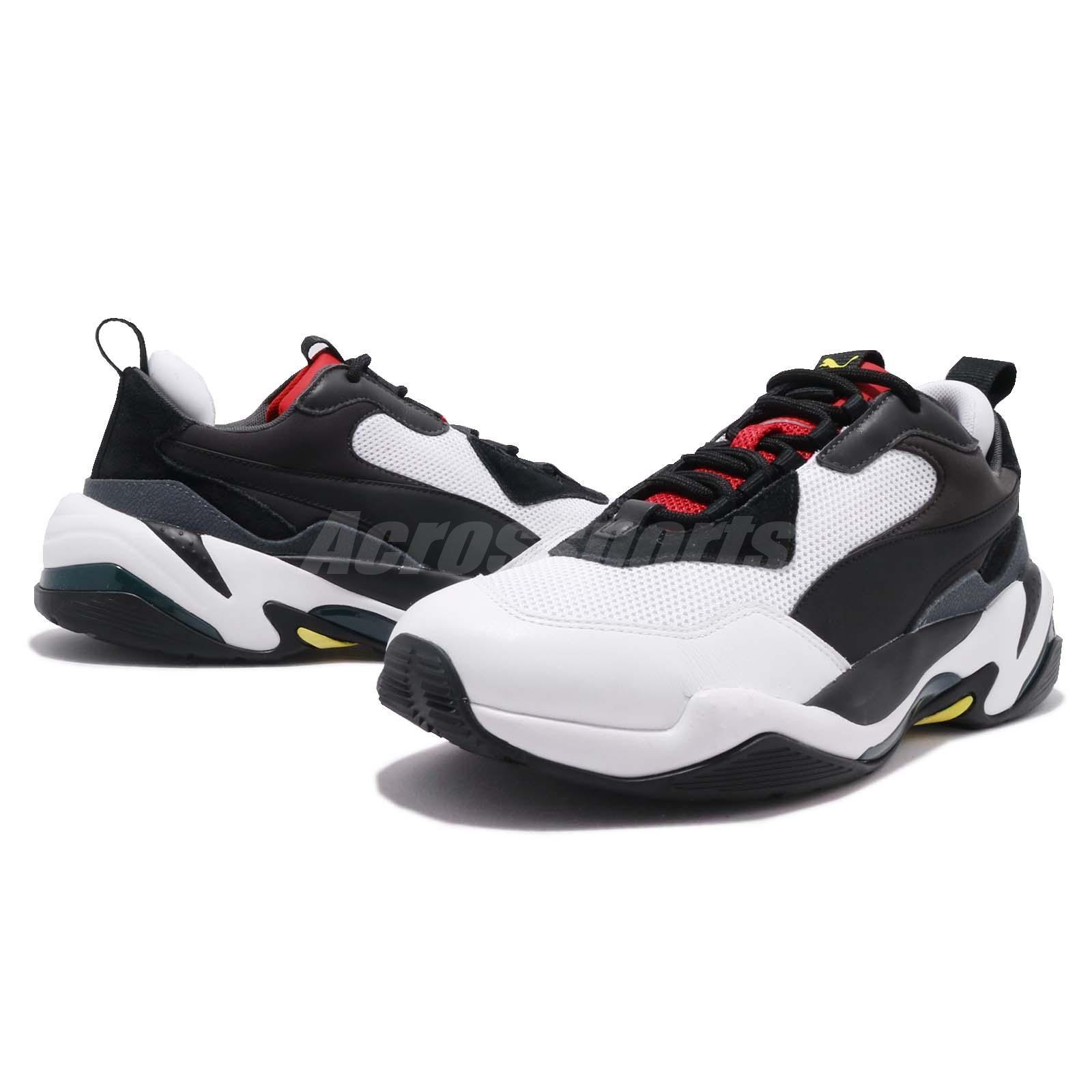 Détails sur Puma Thunder Spectra Black Red White Men Women Lifestyle Daddy Shoes 367516 07