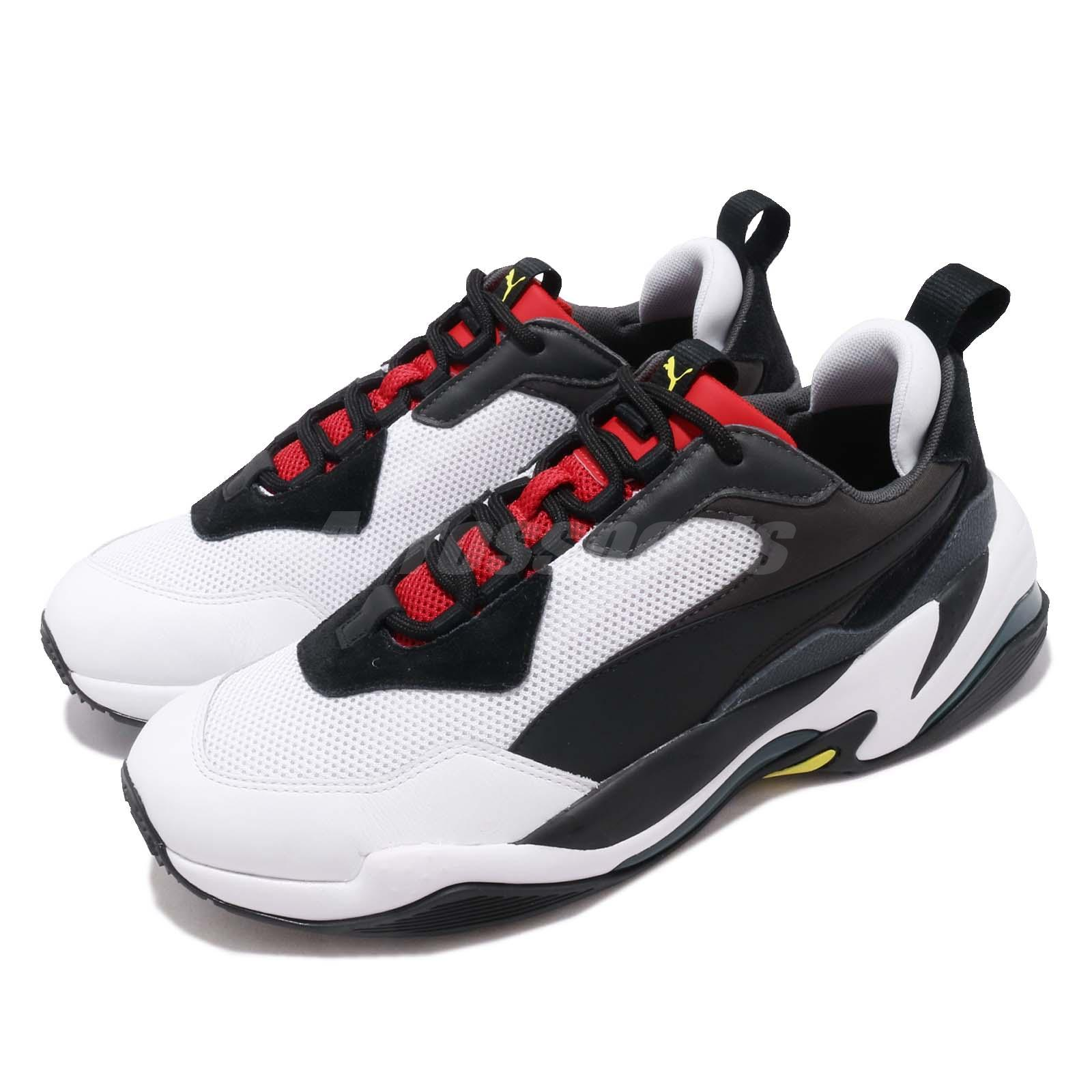 Details about Puma Thunder Spectra Black Red White Men Women Lifestyle  Daddy Shoes 367516-07