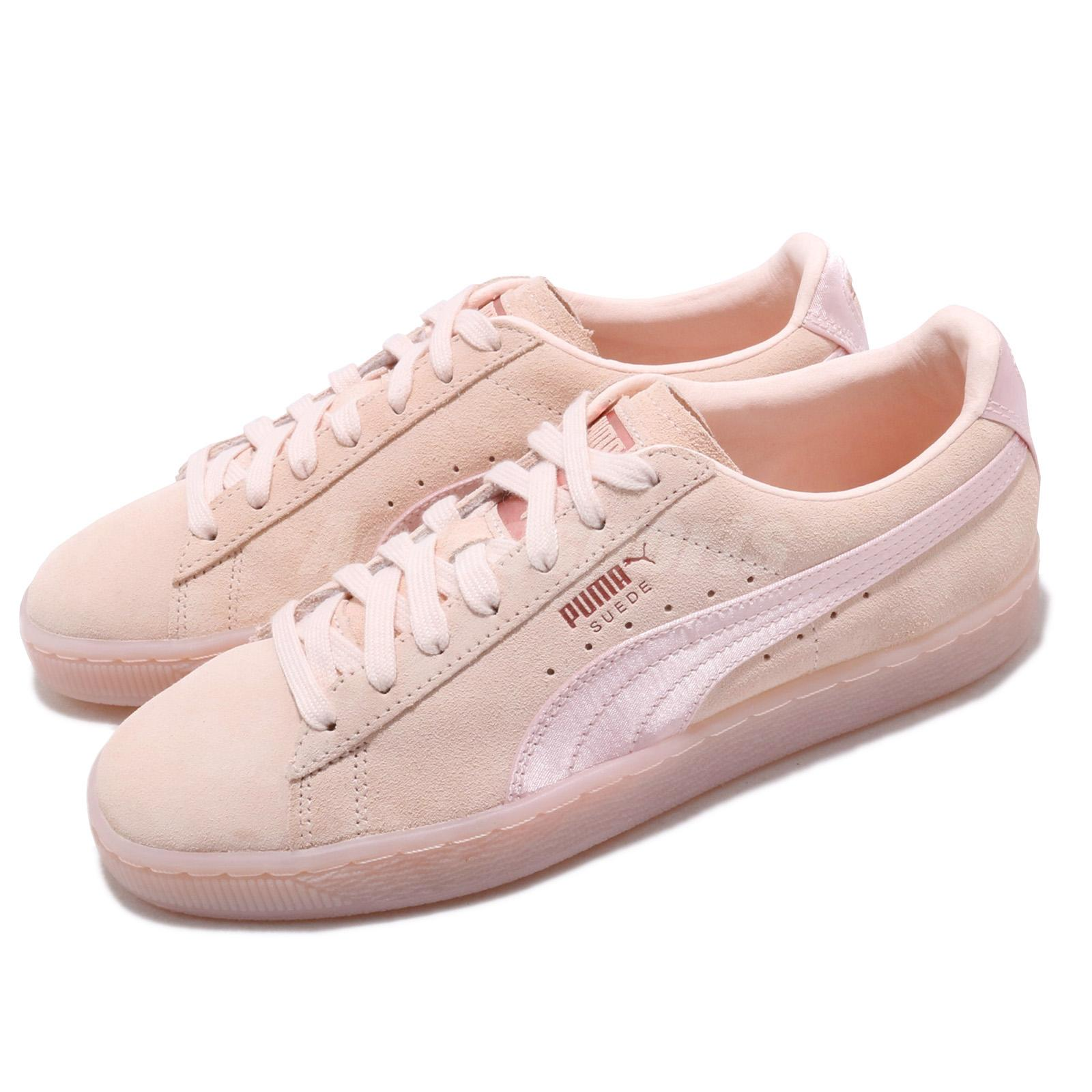 Details about Puma Suede Classic Satin Wns Pearl Rose Gold Women Casual  Shoe Sneaker 367829-03