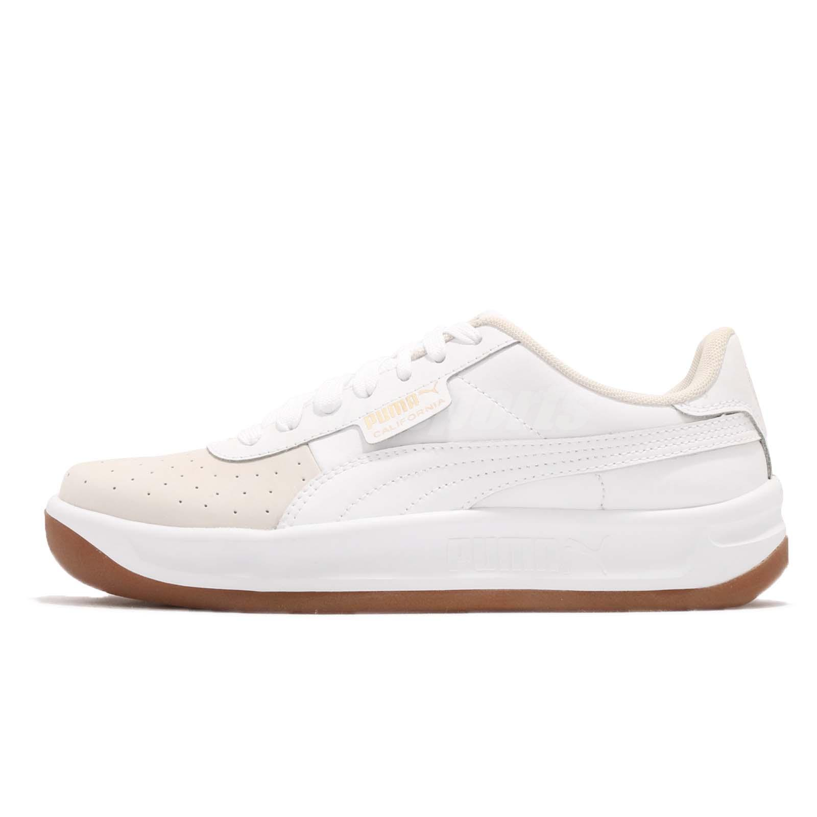 12f9f230070f Puma California Exotic Wns White Gold Gum Women Casual Shoes Sneakers  368135-01