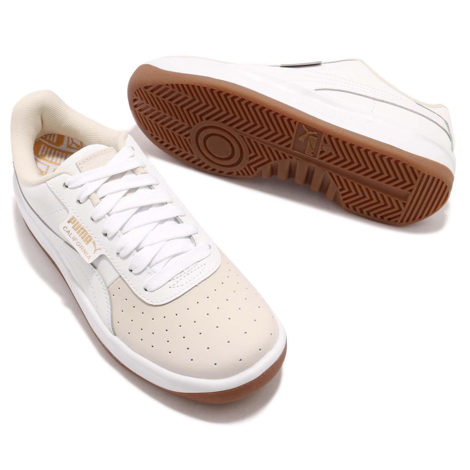 07587c26d7f0 Puma California Exotic Wns White Gold Gum Women Casual Shoes ...