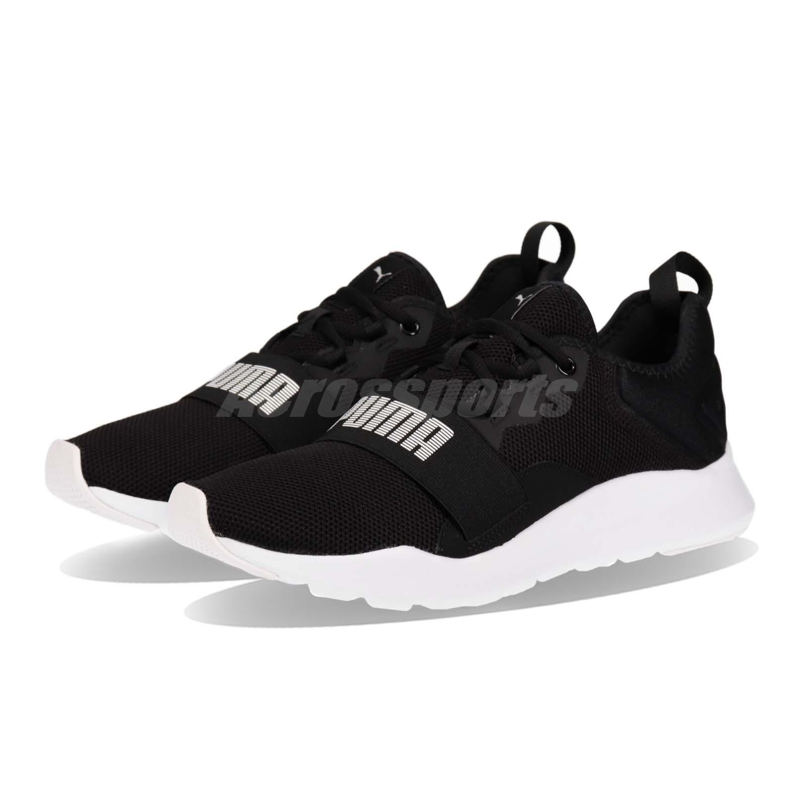 1b42a1ac1eb Details about Puma Wired Pro Black White Men Women Running Casual Shoes  Sneakers 369126-01