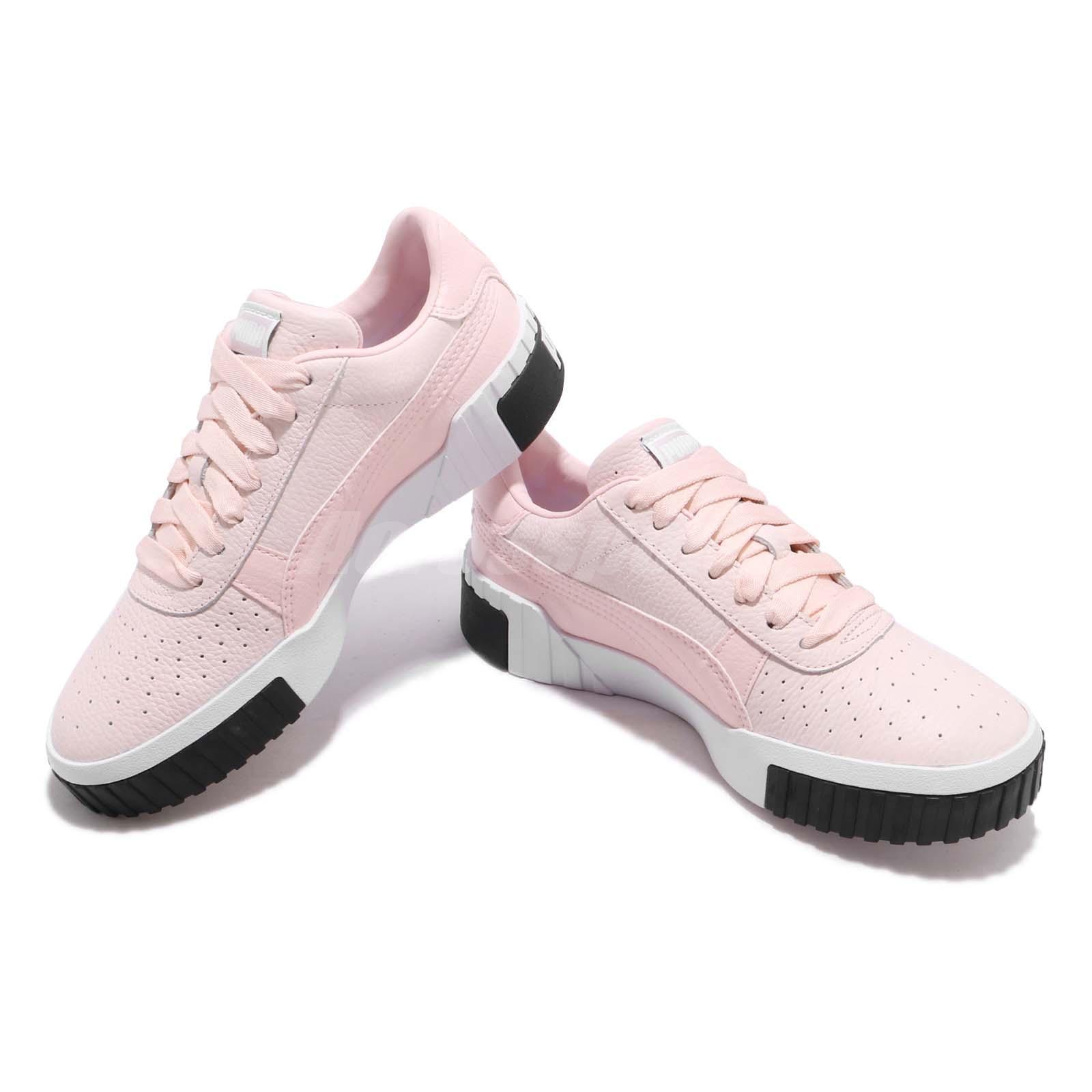 bf454b8a Puma Cali Wns Pink Dogwood White Women Fashion Shoes Sneakers 369155 ...