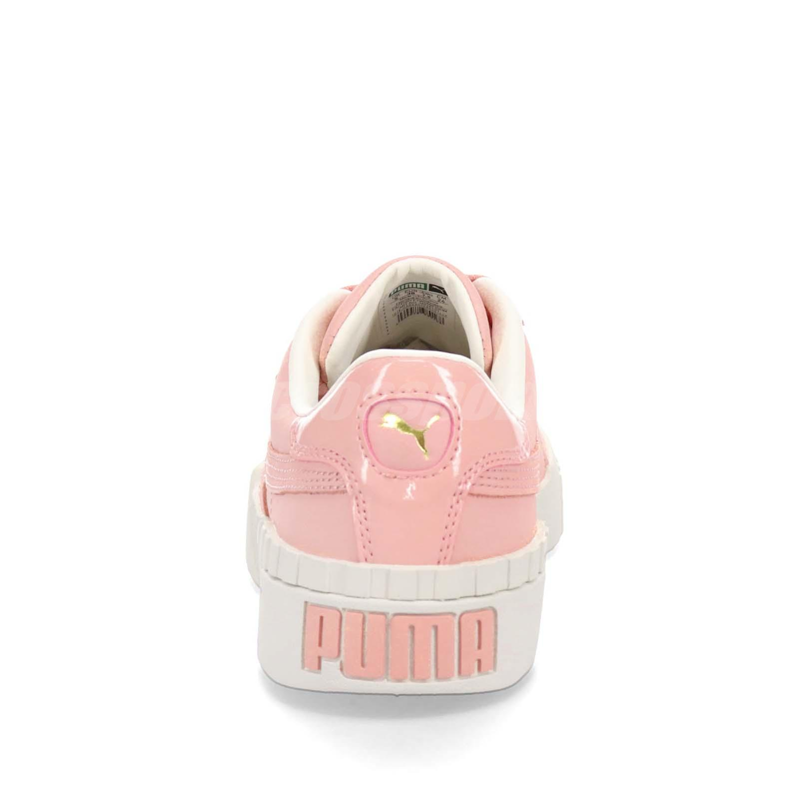 1857bb67d37cac Puma Cali Nubuck Wns Peach Bud Pink Women Casual Shoes Sneakers ...