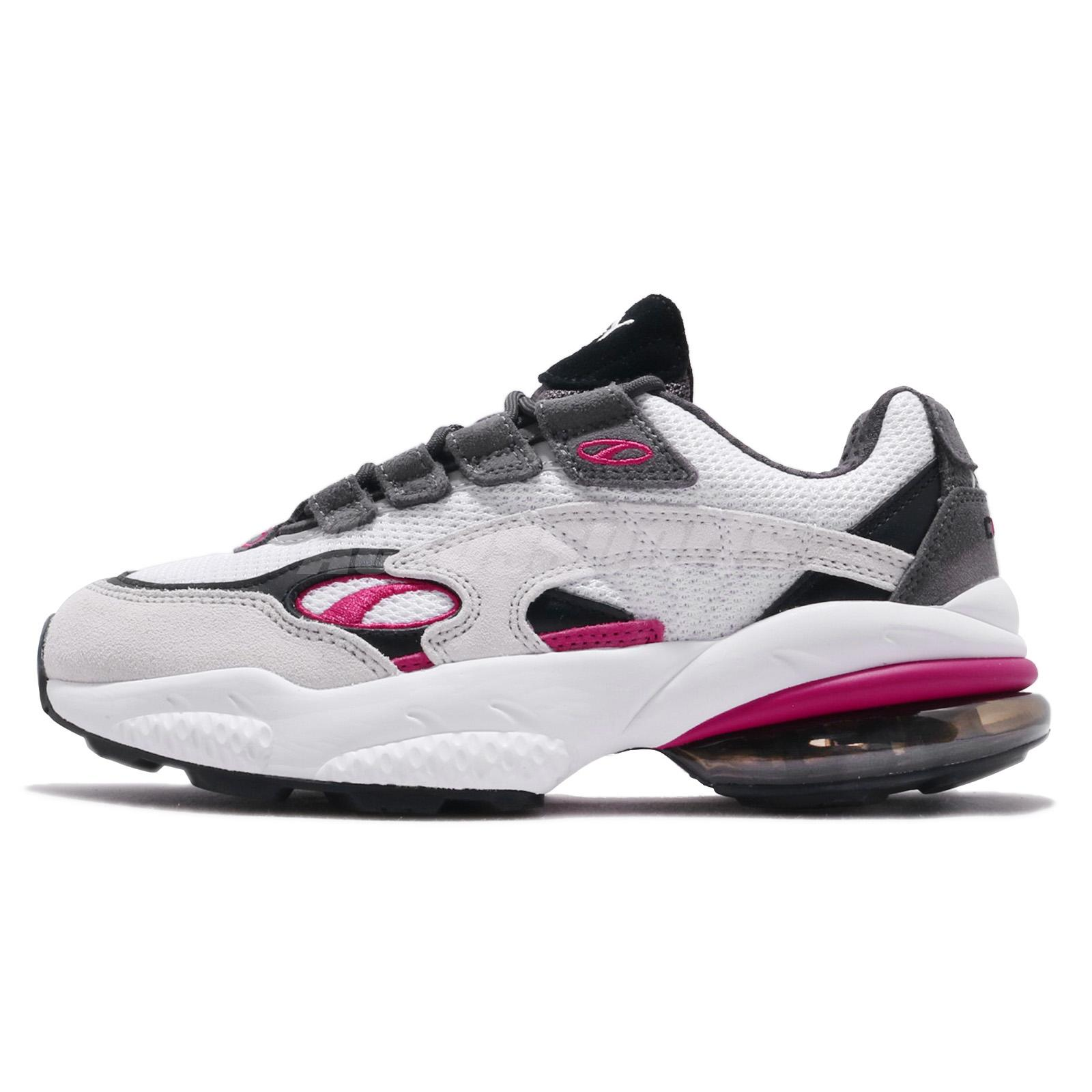 Puma Cell Venom White Fuchsia Purple Black Men Running Shoes Sneakers 369354-08