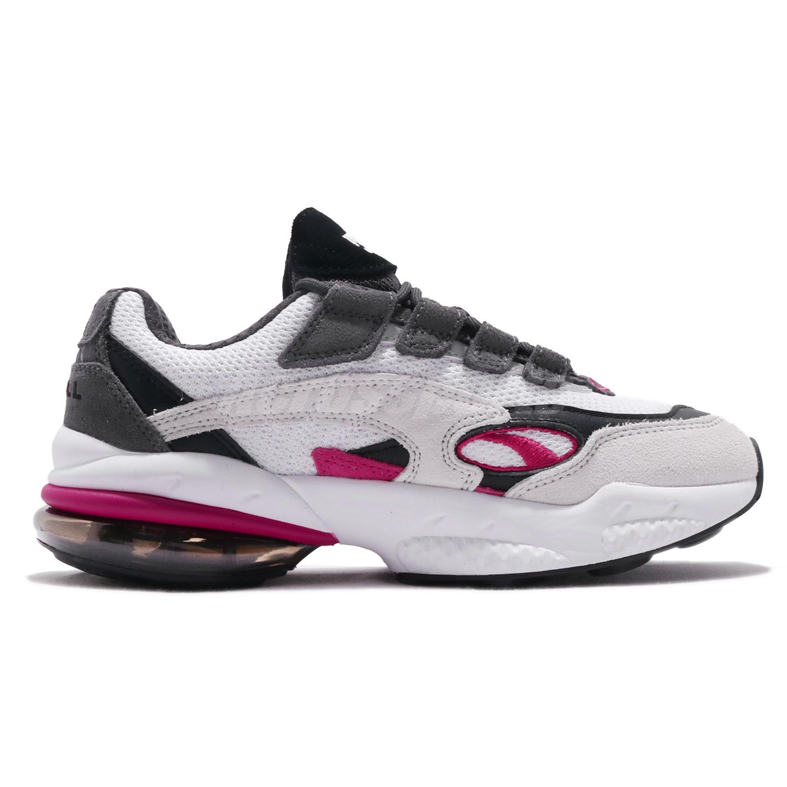 Details about Puma Cell Venom White Fuchsia Purple Black Men Running Shoes  Sneakers 369354-08