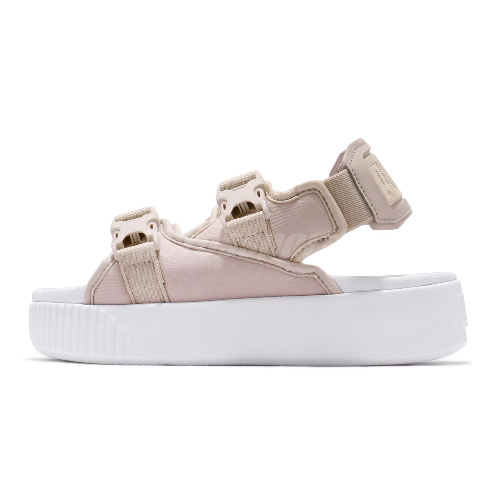 puma women's platform slide ylm sandal