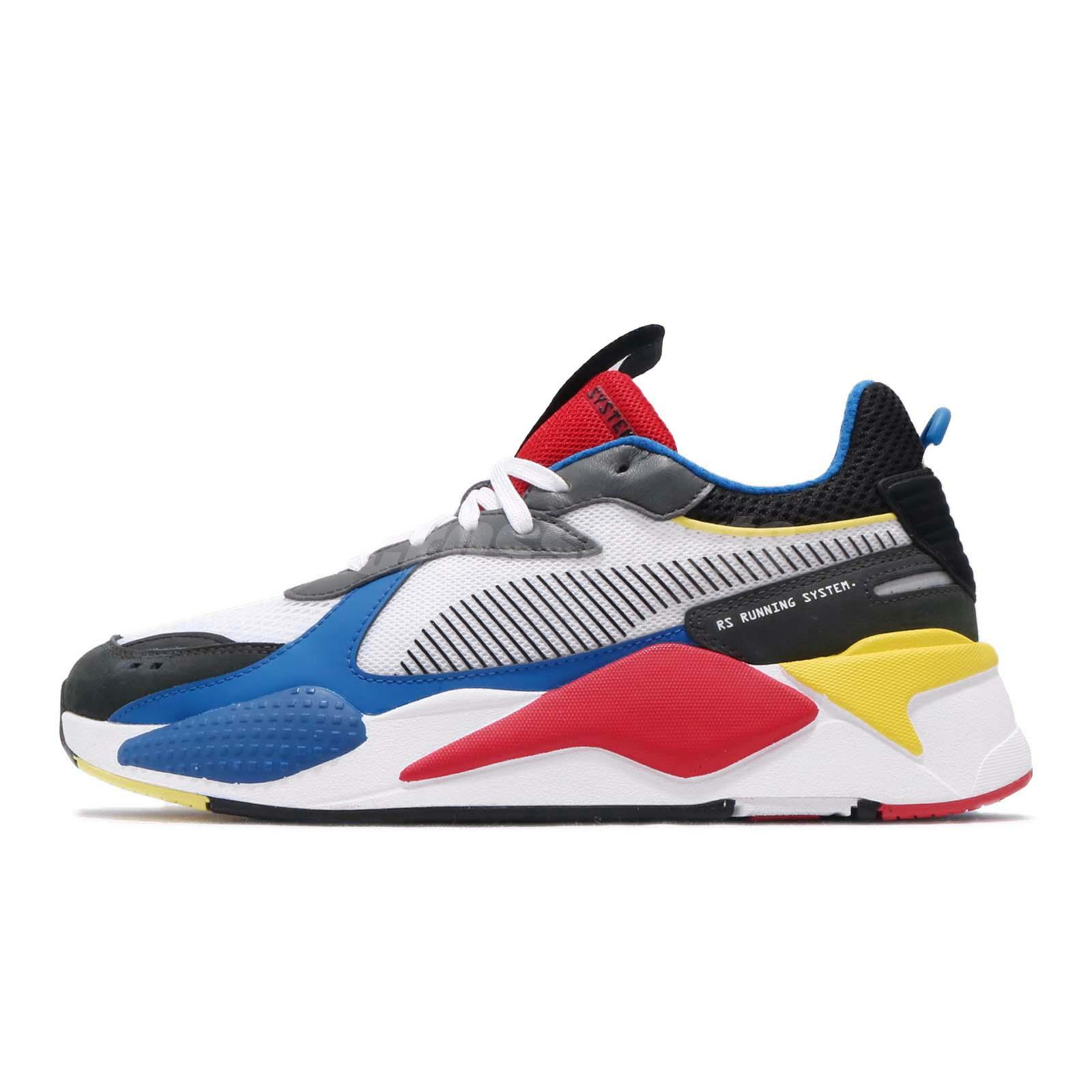 Details about Puma RS X Toys Running System White Black Blue Red Yellow Men Shoes 369449 02