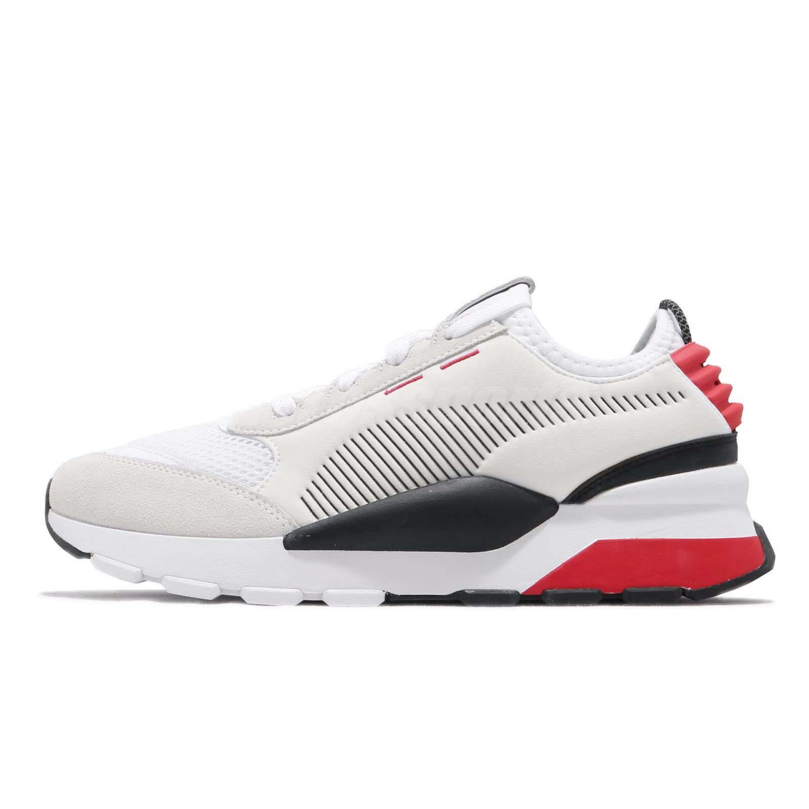 Puma RS-0 Winter INJ Toys Running System White Red Men Shoes Sneakers 369469 -01 537f6f00e