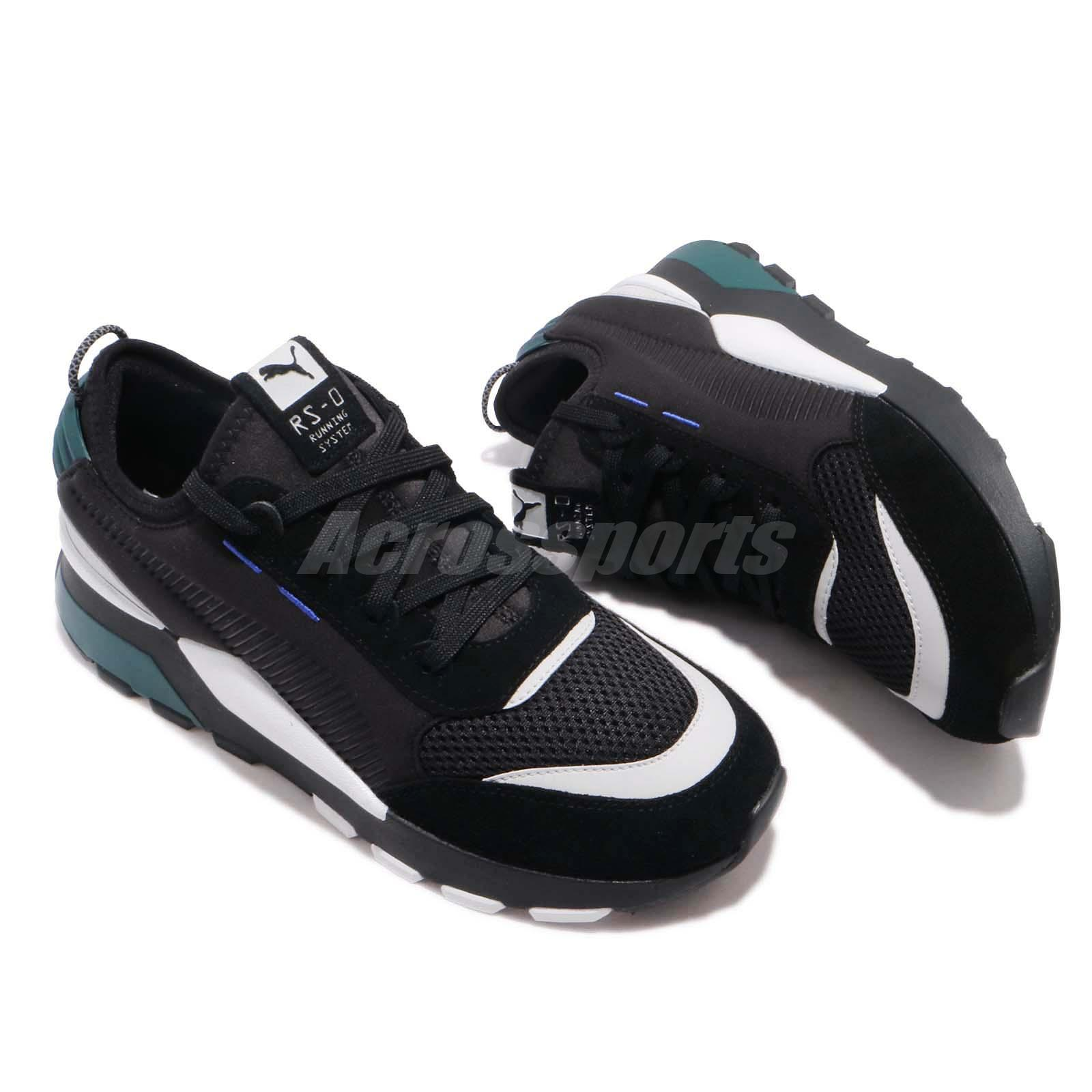 418bf9484d Puma RS-0 Winter INJ Toys Running System Black Green Men Shoes ...