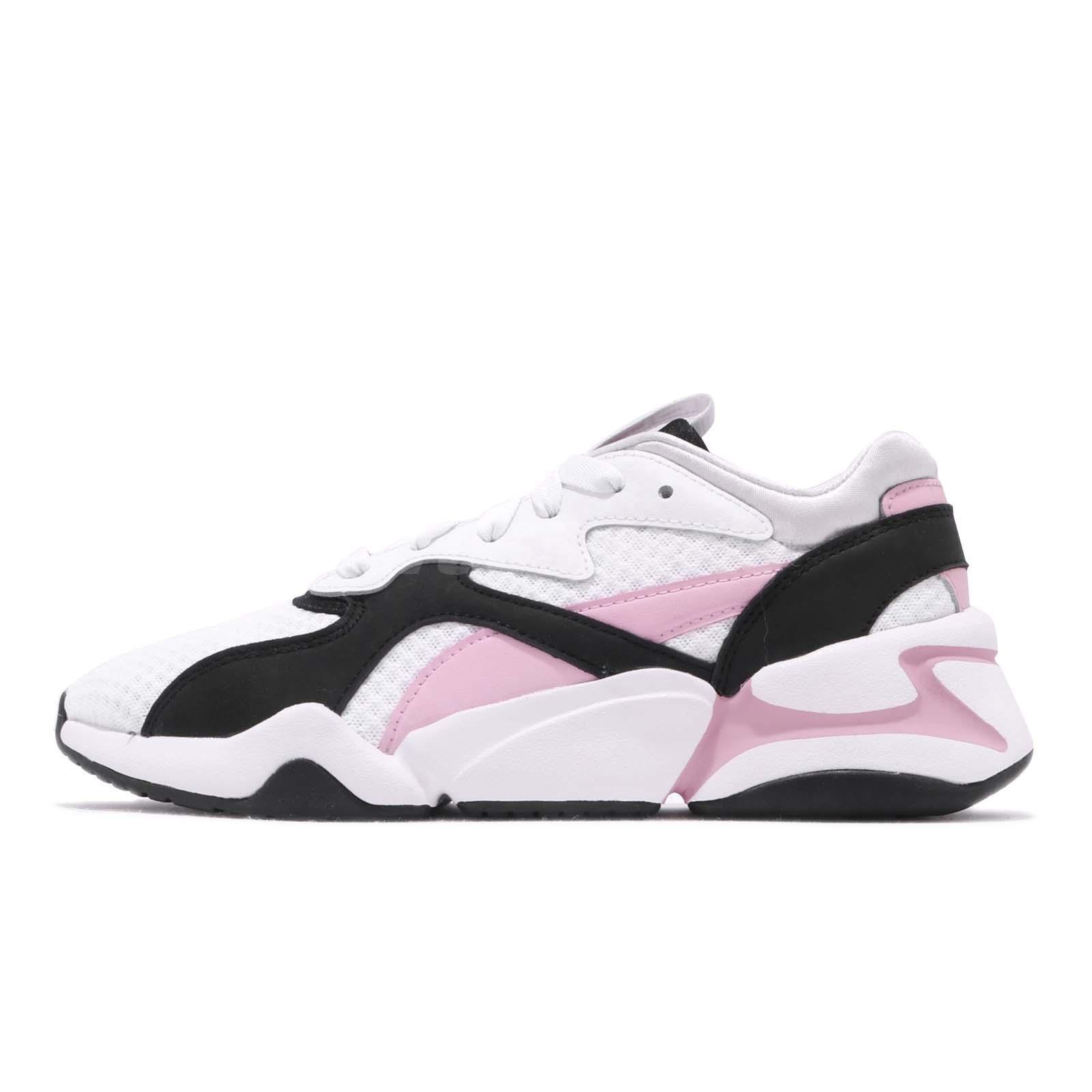 Puma Nova 90's bloc Lace Womens Running Shoes Black 369486