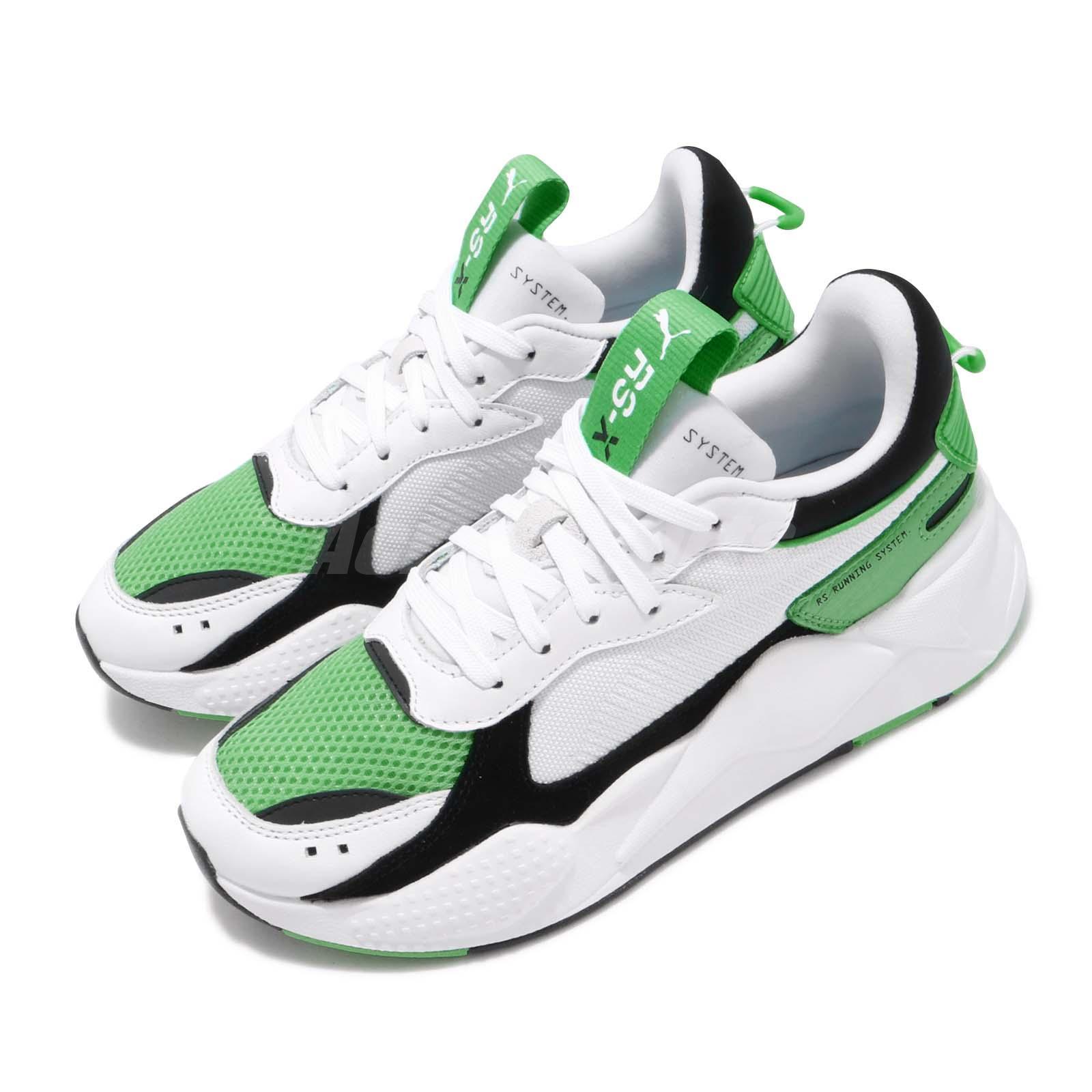 Green Men Women Unisex Shoe 369579-05