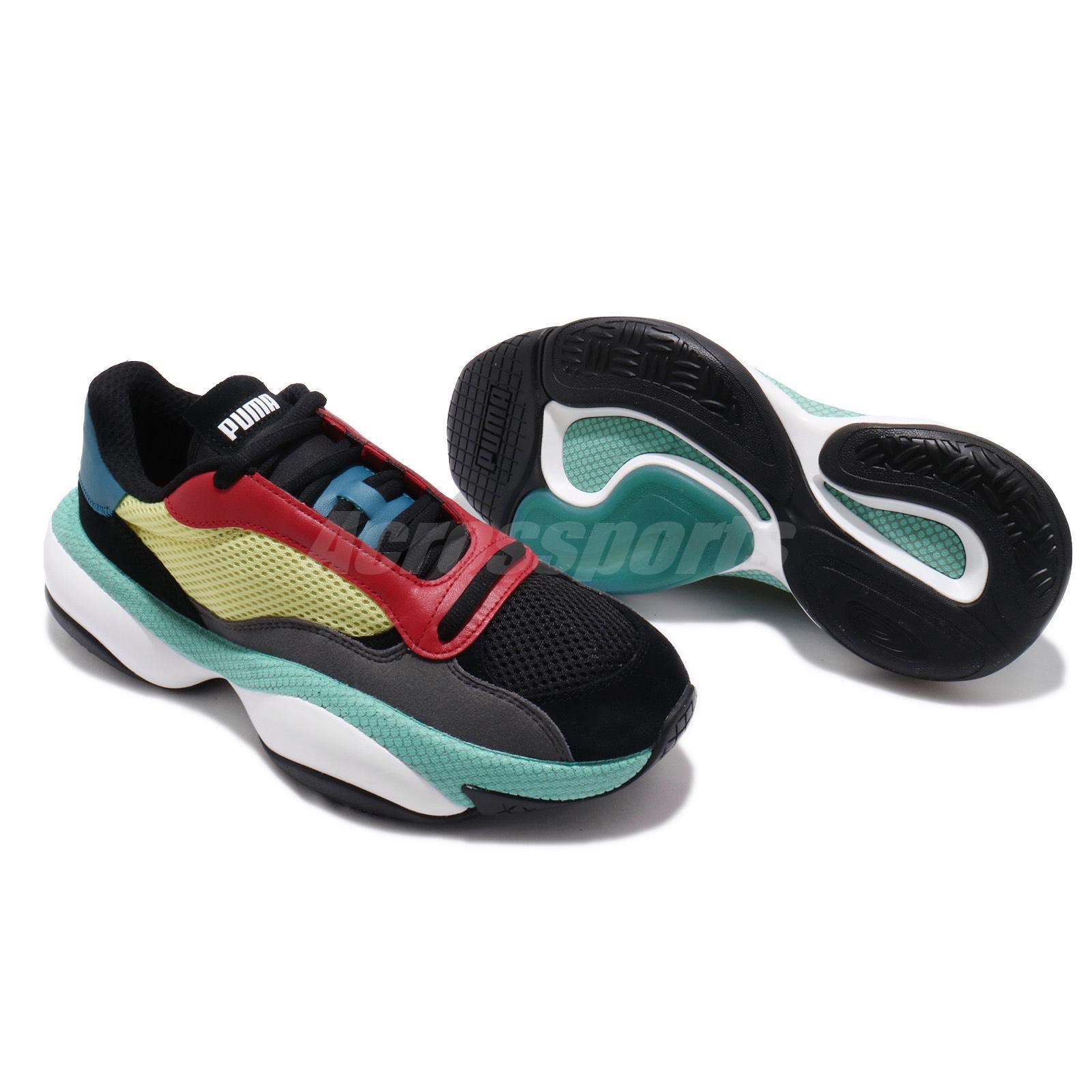 Puma Men/'s  Alteration Kurve Shoes NEW AUTHENTIC Black//Lime 36979402 SZ:9
