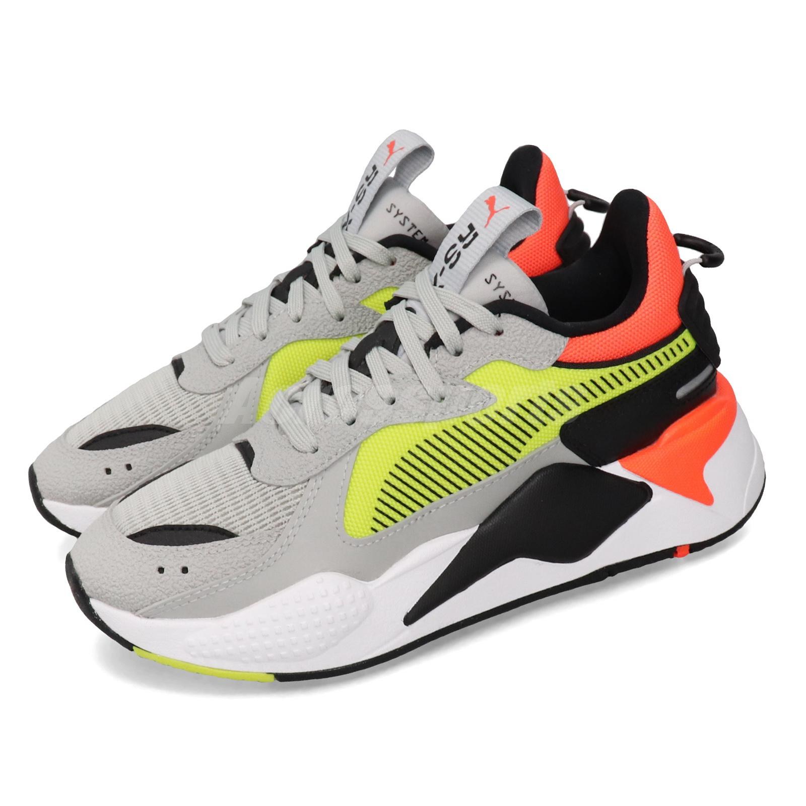 Copiar Perfecto con las manos en la masa  Puma RS-X Hard Drive Run System Grey Yellow Mens Womens Running Shoes  369818-01 | eBay
