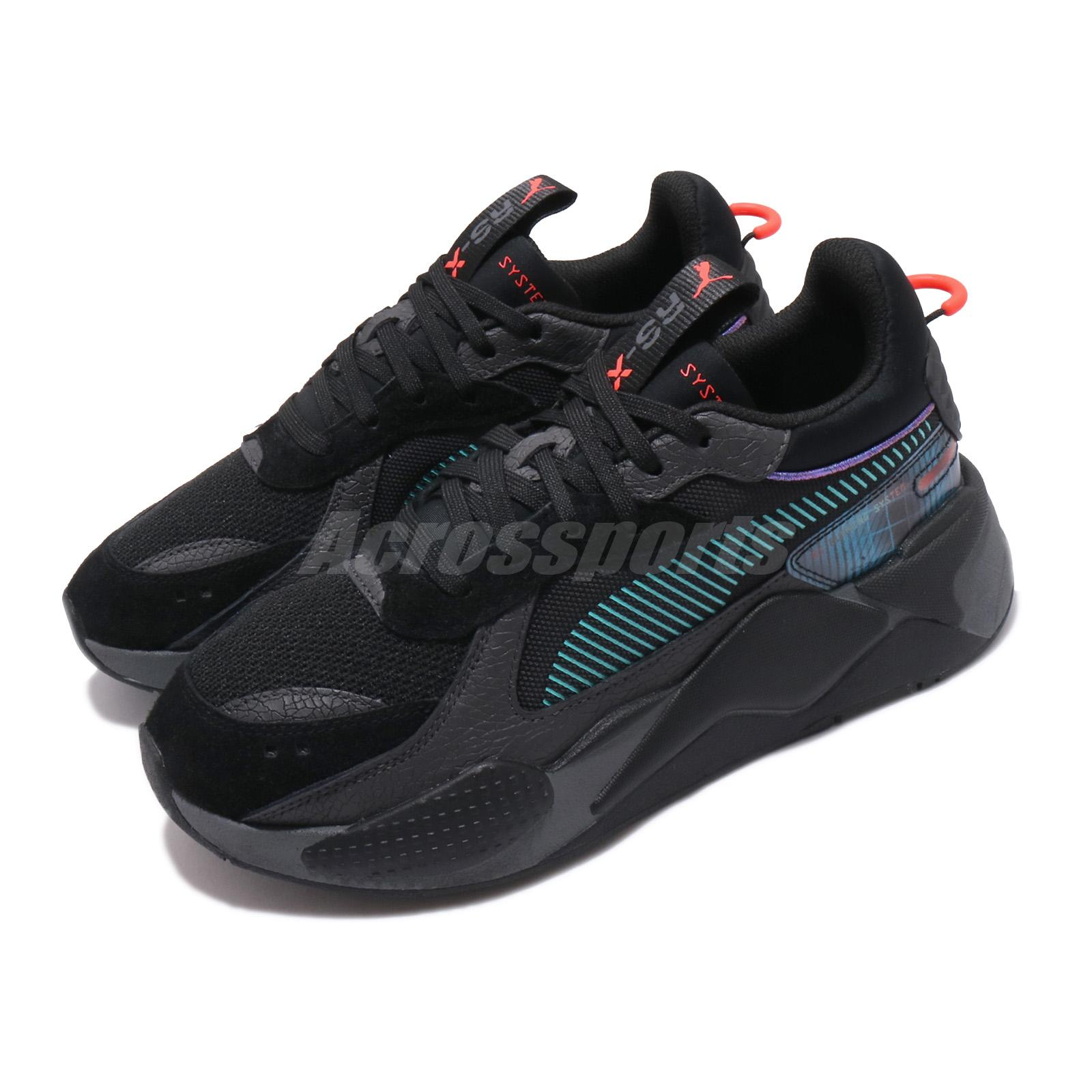 Details about Puma RS-X BladeRunner Running System Black Asphalt Men  Lifestyle Shoes 369967-01