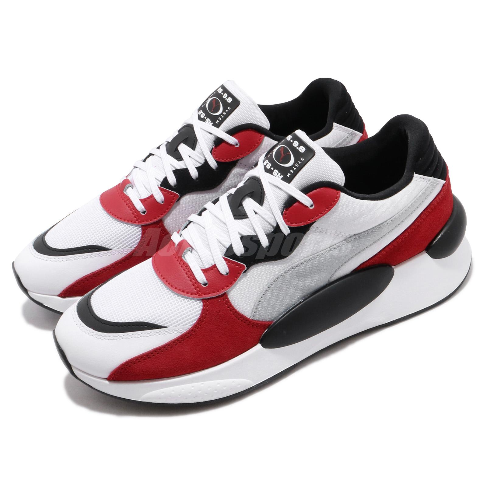 a830f5a7666 Details about Puma RS 9.8 Space White Red Black Mens Womens Daddy Shoes  Lifestyle 370230-01