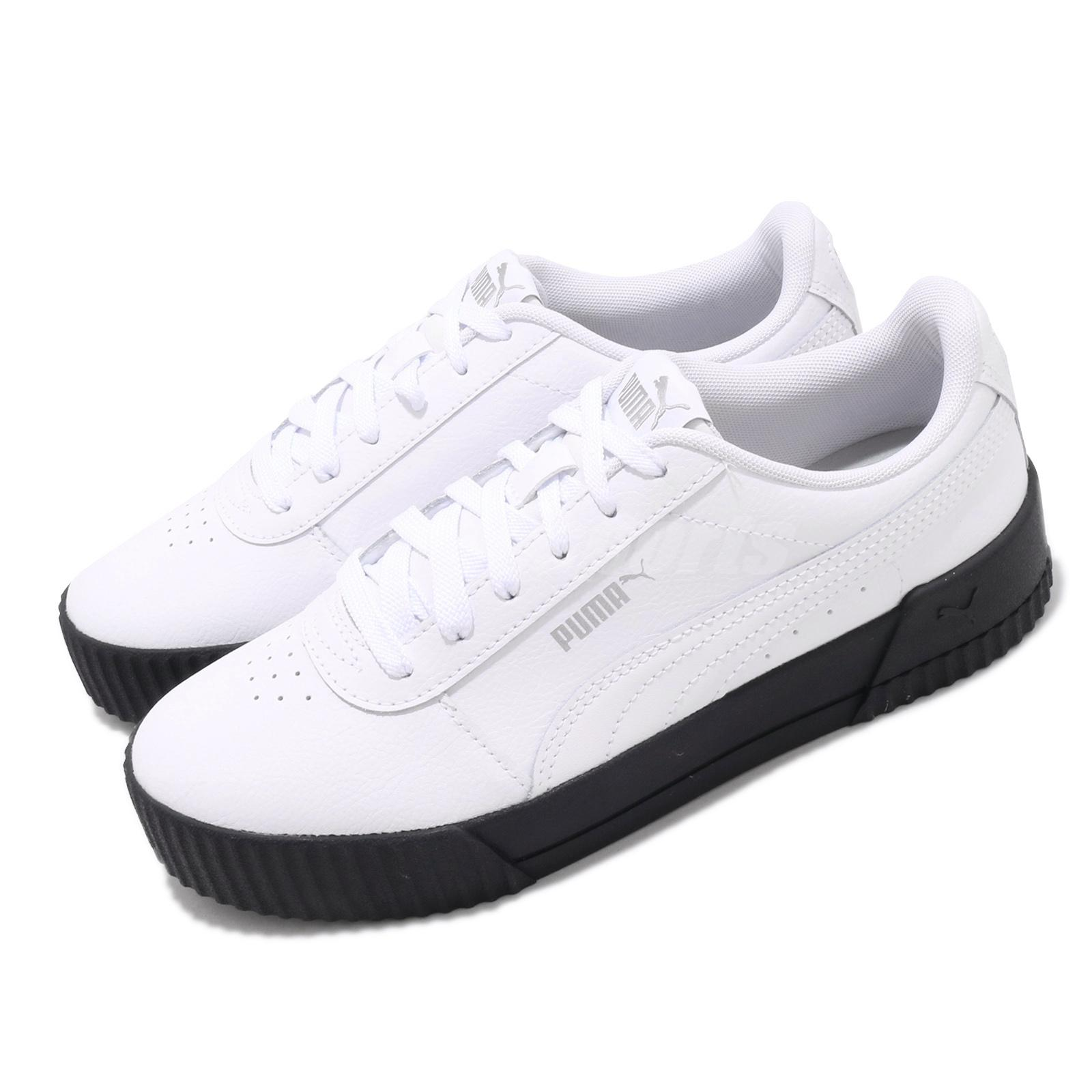 Details about Puma Carina L White Black Silver Women Casual Lifestyle Shoes  Sneakers 370325-17