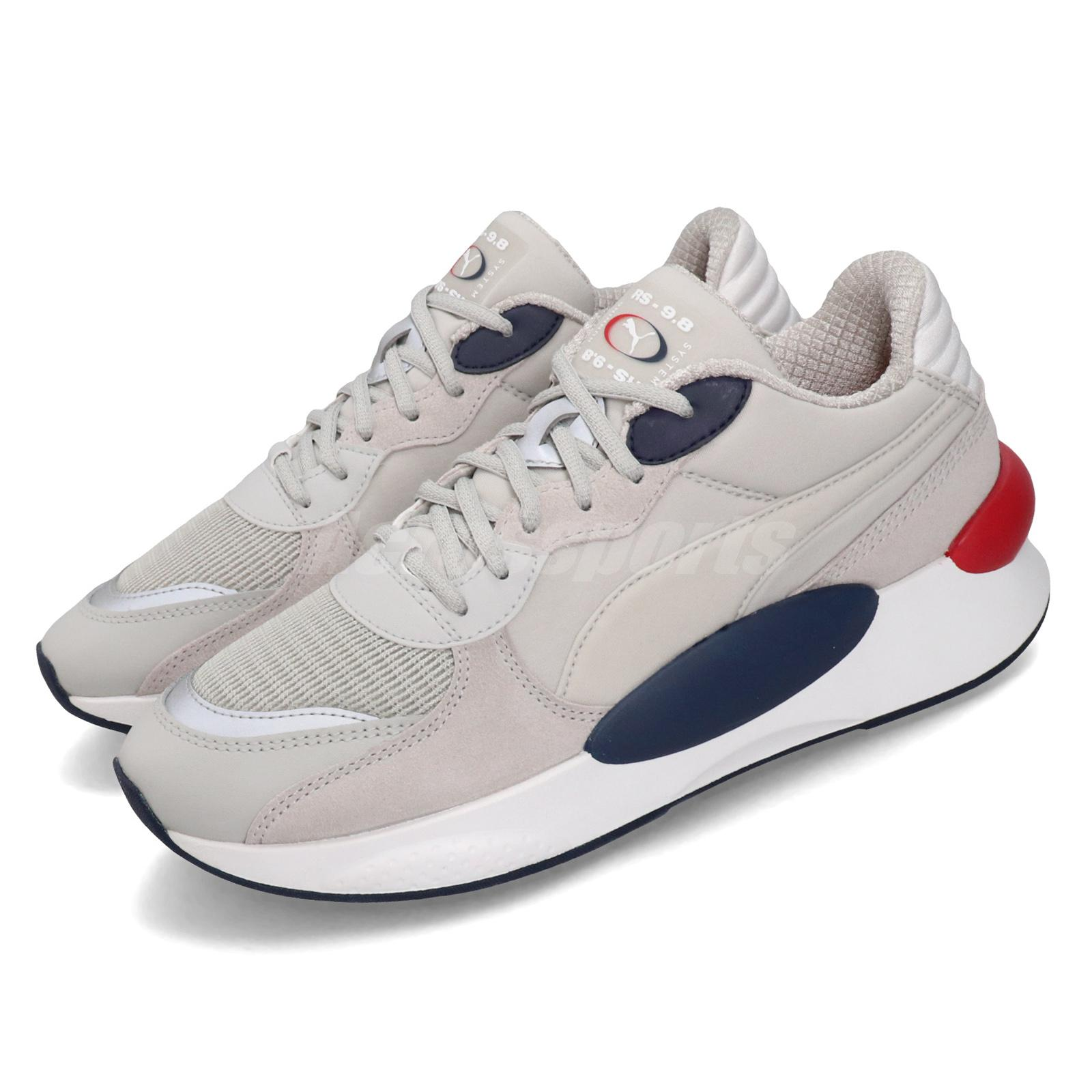 Details about Puma RS 9.8 Gravity Running System Grey Peacoat Men Women  Unisex Shoes 370370-03