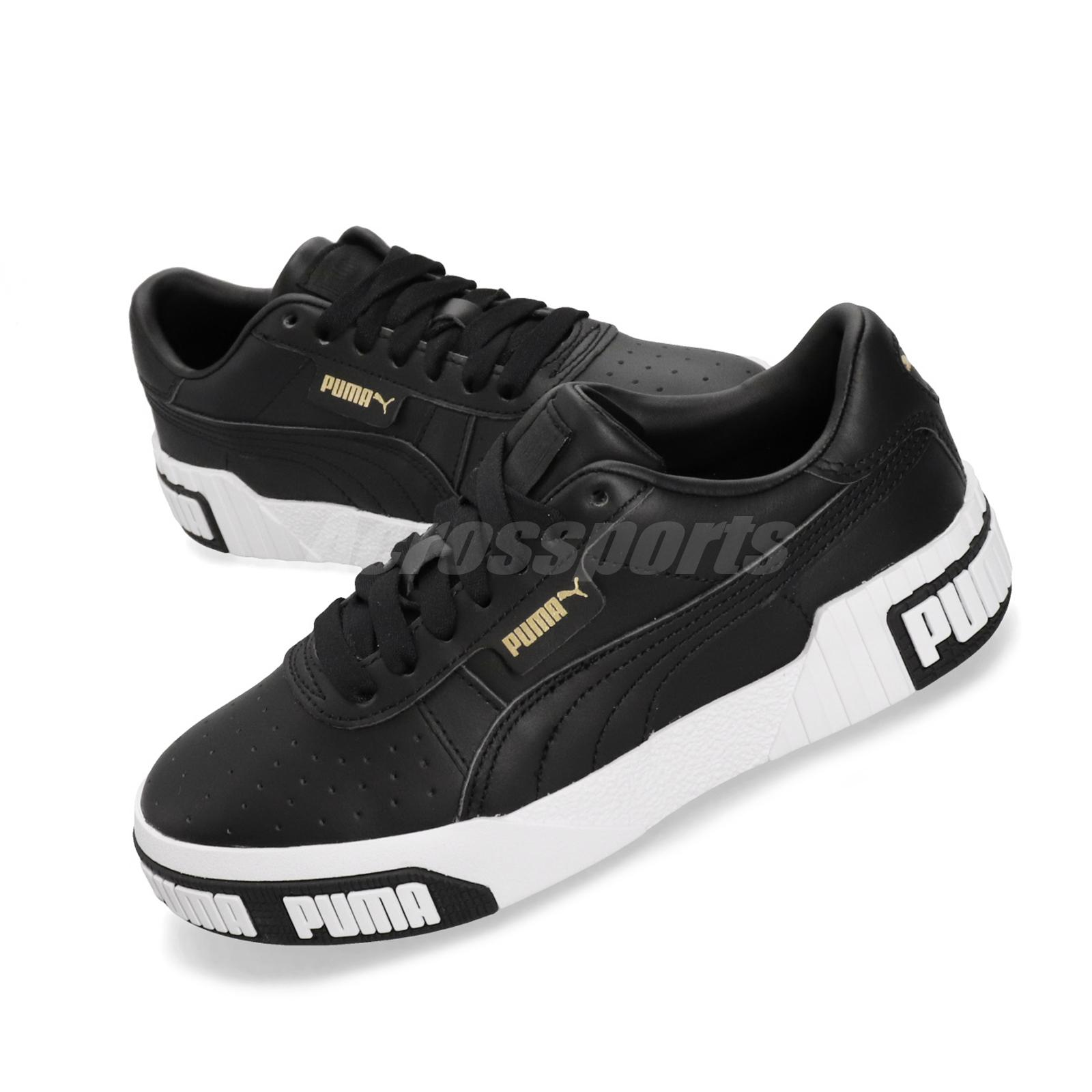 Details about Puma Cali Bold Wns Black Gold White Women Casual Fashion  Shoes Sneaker 370811-03
