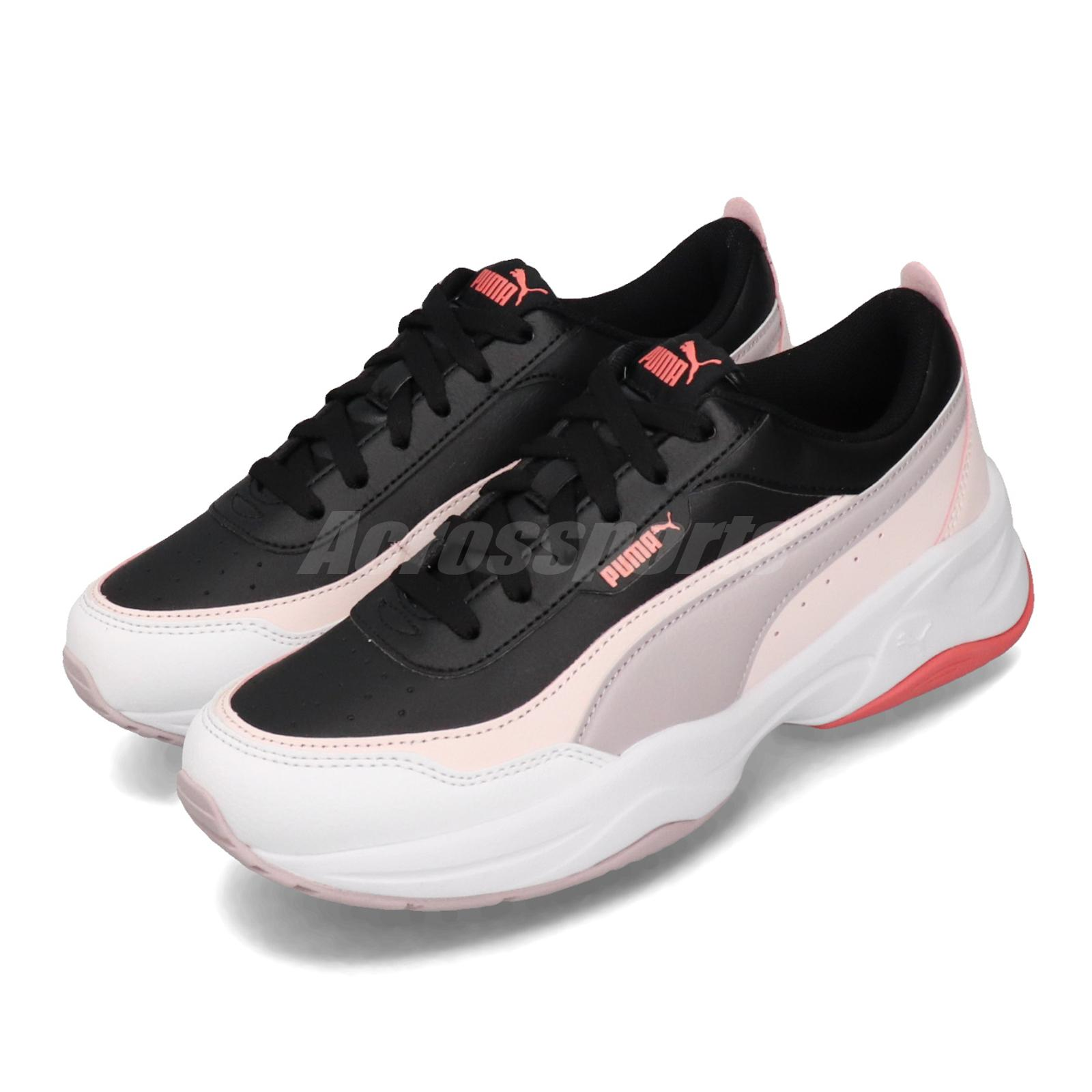 Details about Puma Cilia Mode Black Pink Grey Womens Lifestyle Shoes  Trainer Sneaker 371125-05
