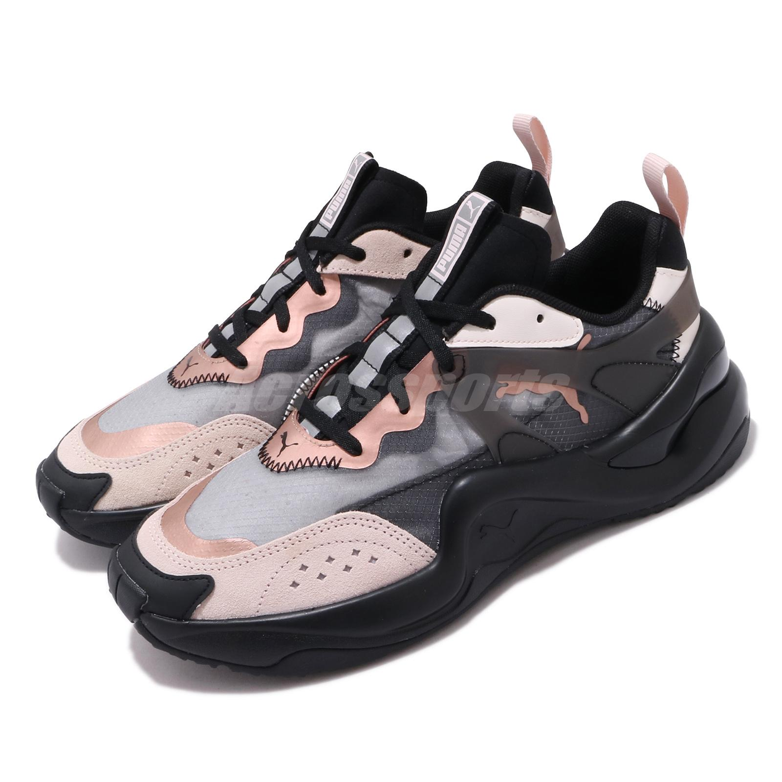 Details about Puma Rise Wns Black Rosewater Pink Womens Lifestyle Casual  Shoes 371777-03