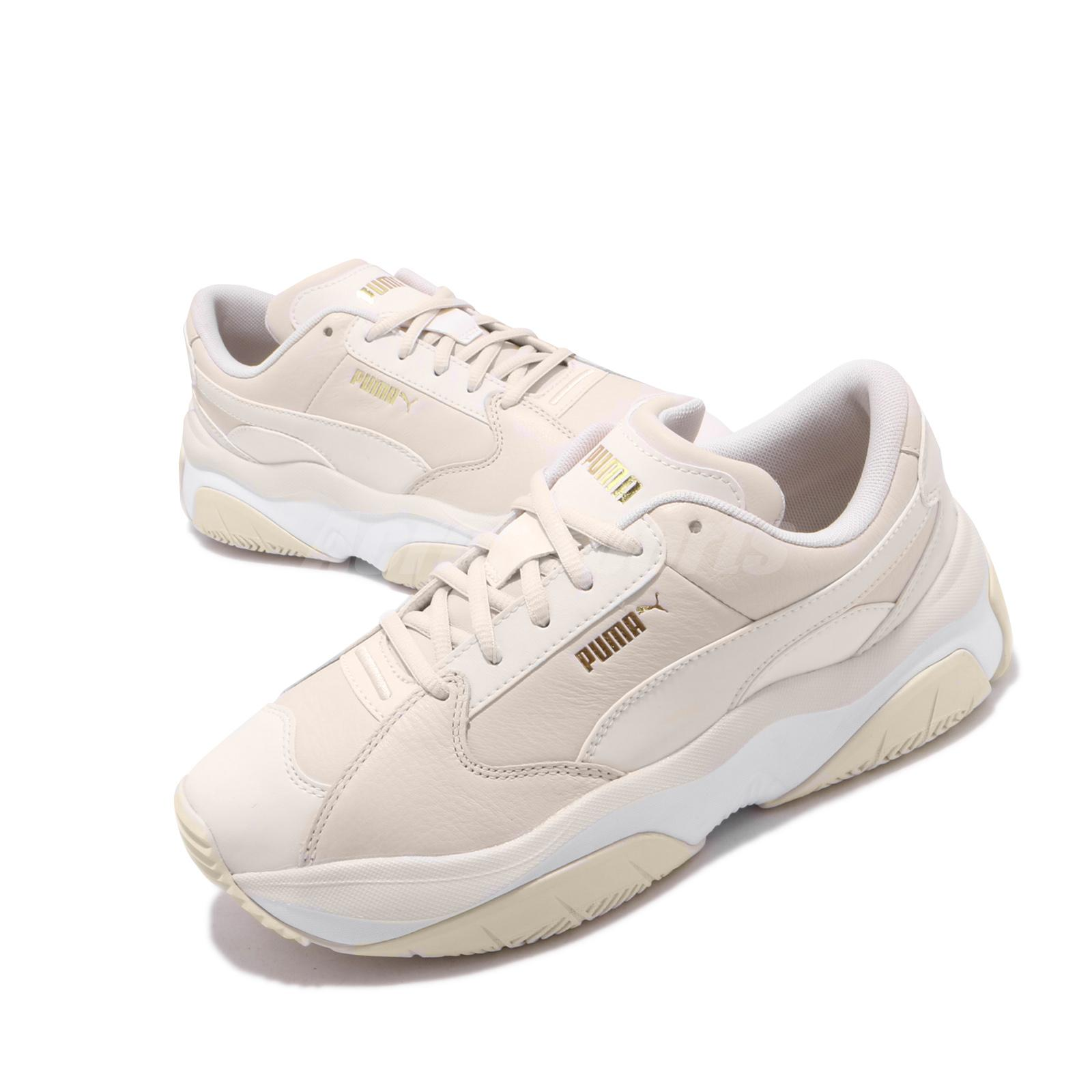 Details about Puma Storm.Y L Wns Ivory Beige Women Lifestyle Chunky Daddy  Shoes 372166-02