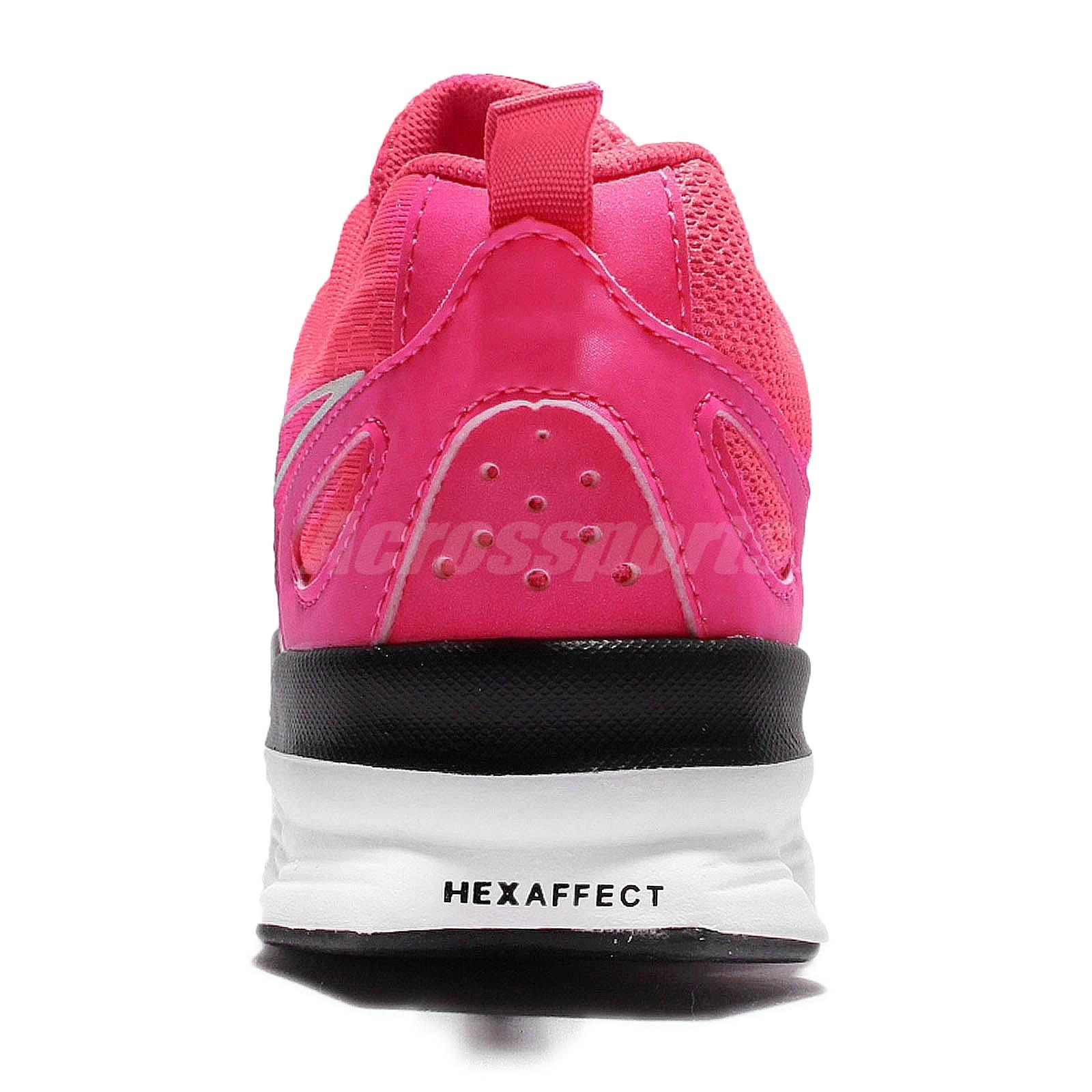 Reebok Hexaffect Run LE Pink White Women Running Shoes Sneakers ... 708df34f9