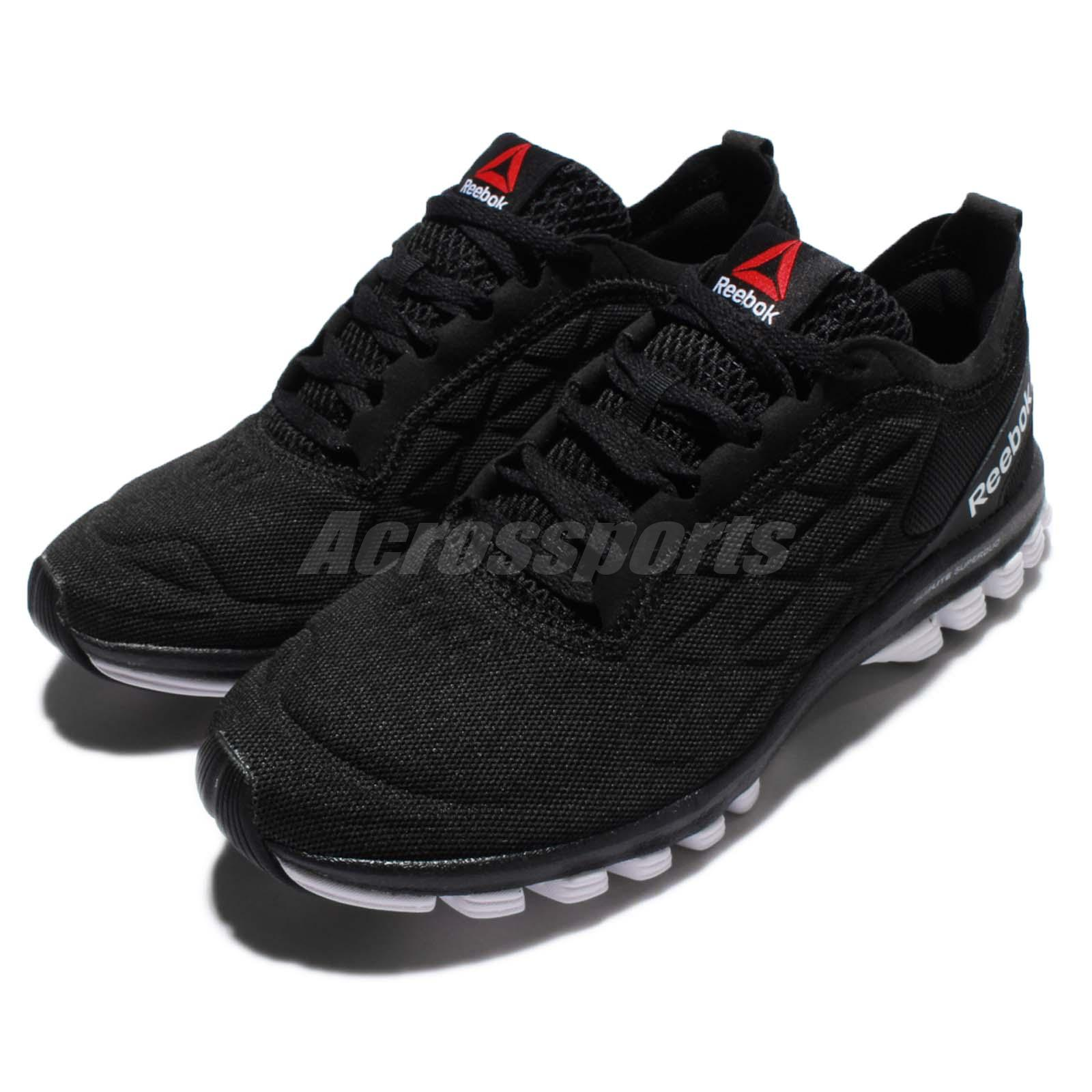 95314e3050b Reebok Sublite Super DUO 3.0 III Black White Women Running Shoes ...