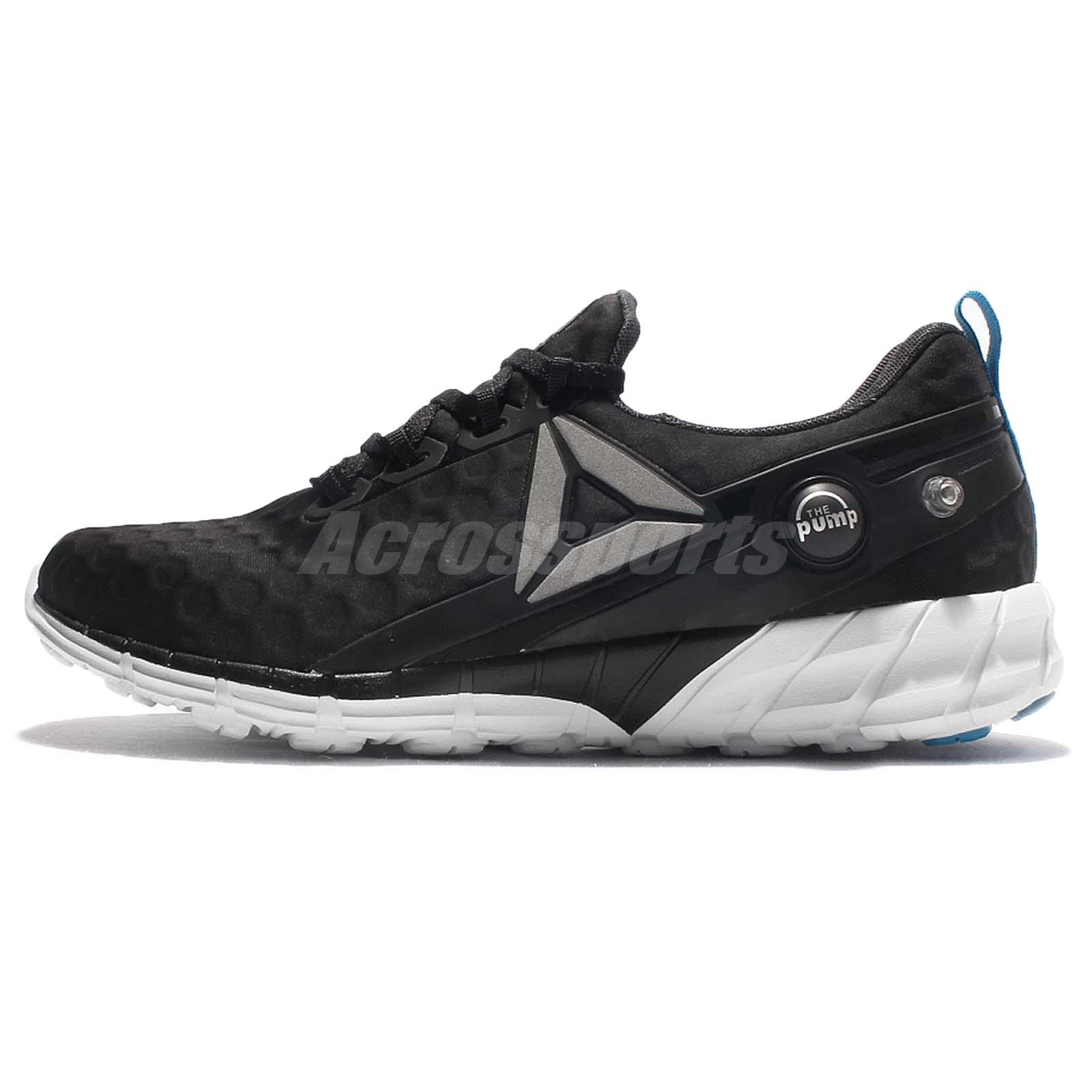 official photos bcedf dd642 Reebok Zpump Fusion 2.5 WP Black White Blue Women Running Shoes Sneakers  AR2819