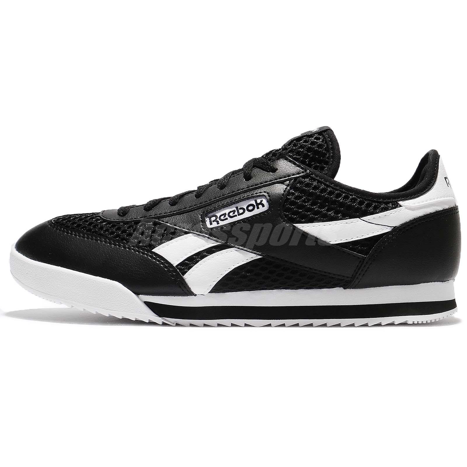 Shoes Détails Bd3300 Black Leather Sneakers Running Royal Sur Reebok 2txt White Men Rayen PwOX80kn