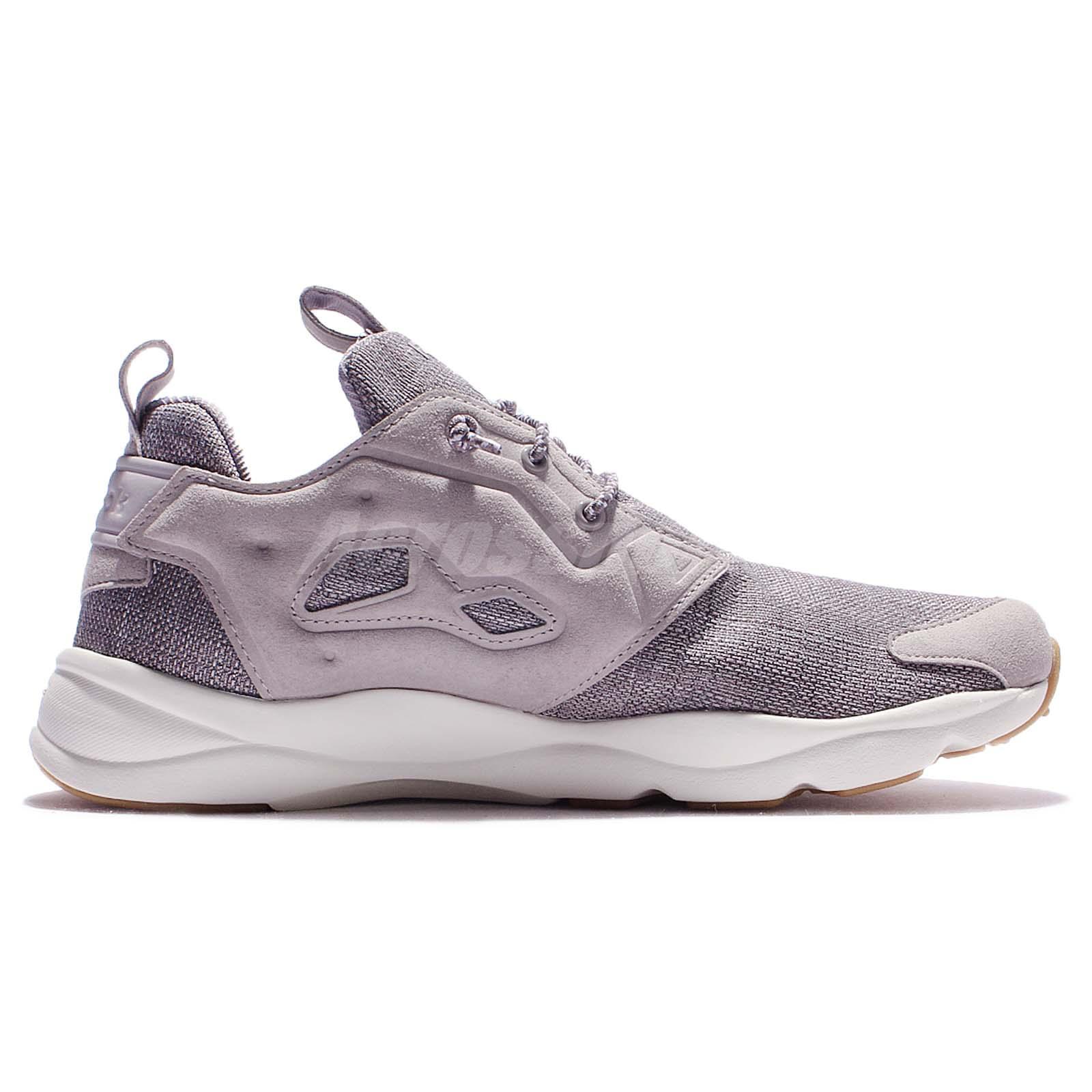 4cbc7eb69b5bea ... Reebok Furylite Refine Grey Black Gum Men Casual Shoes Sneakers BD3850  Condition  Brand New With Box ...