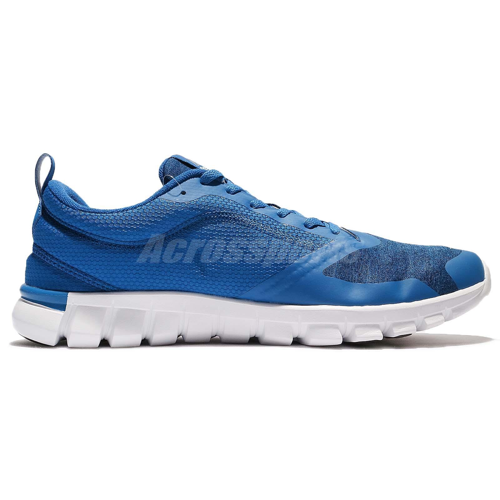 aabe7ccefc7e Reebok Sublite Authentic 4.0 Azul Blanco Zapatos de entrenamiento ...