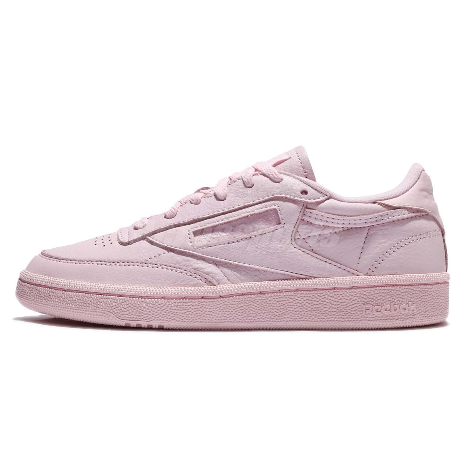 93d203140a04 Reebok Club C 85 ELM Elemental Pack Porcelain Pink Men Women Classic Shoe  BS5216