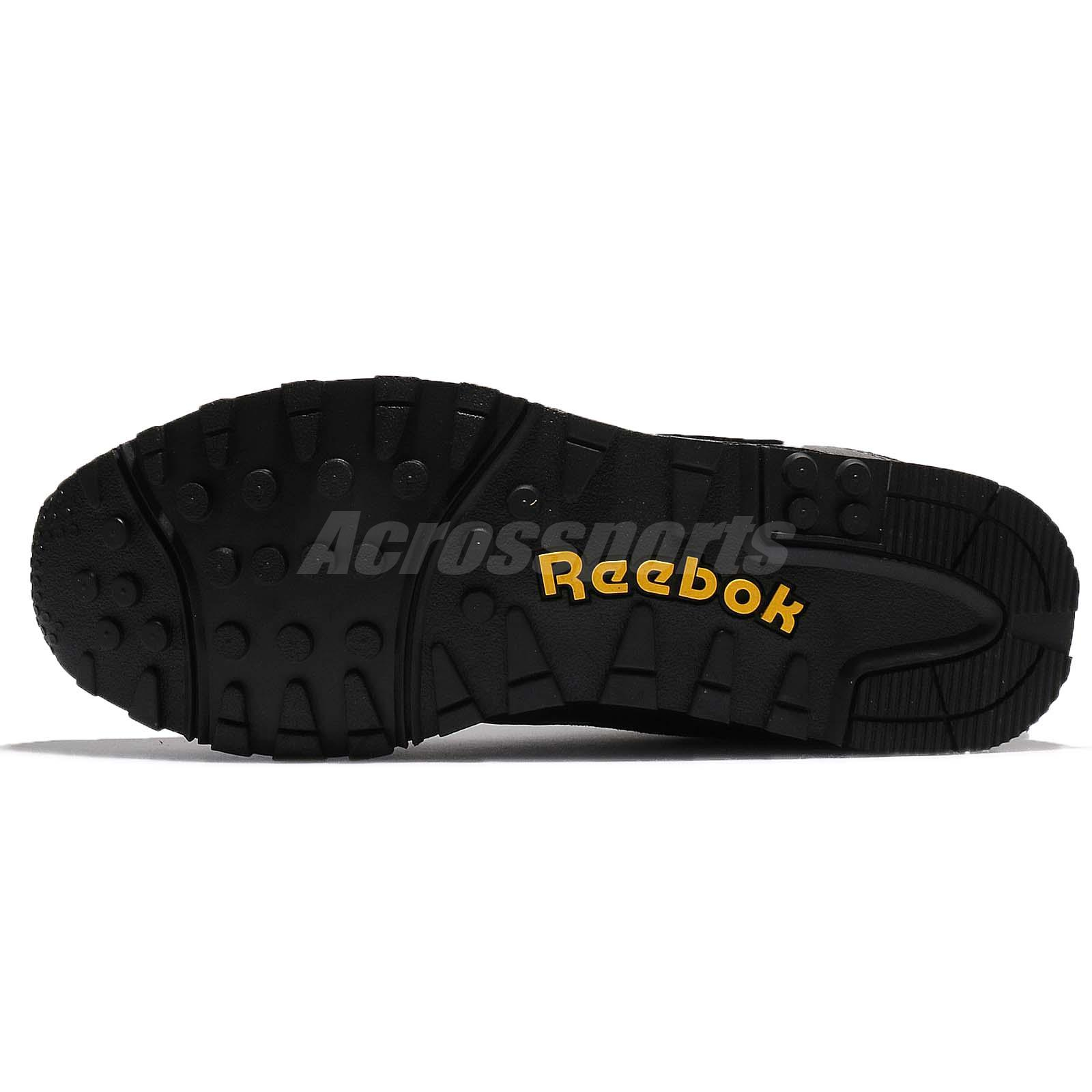 028f6da5f68f Reebok Rapide NHP Black Suede Men Running Shoes Sneakers Trainers ...