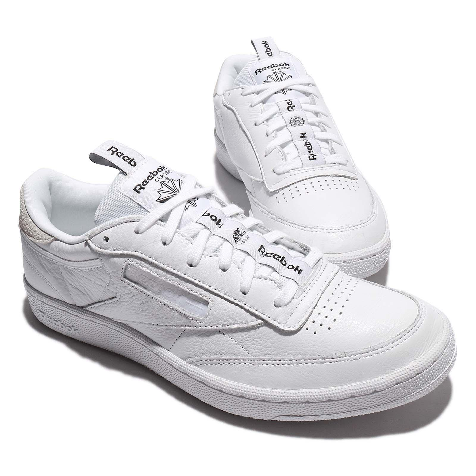 5175bba88a50 Reebok Club C 85 IT Iconic Taping Pack White Skull Grey Men Classic BS6212  XnayxnqE