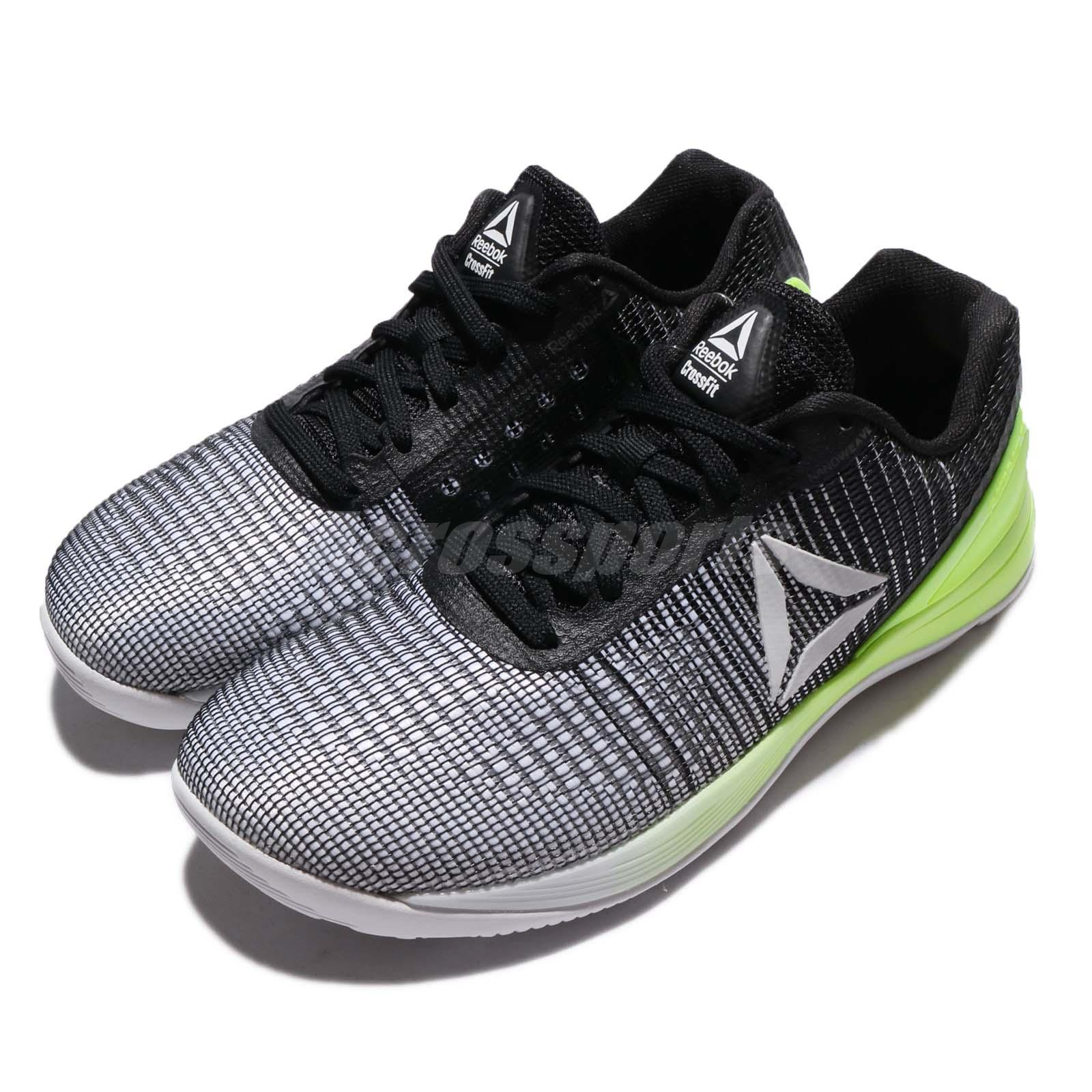 Details about Reebok CrossFit Nano 7 Weave Game Pack White Black Green  Women Training BS8295 8701c2242