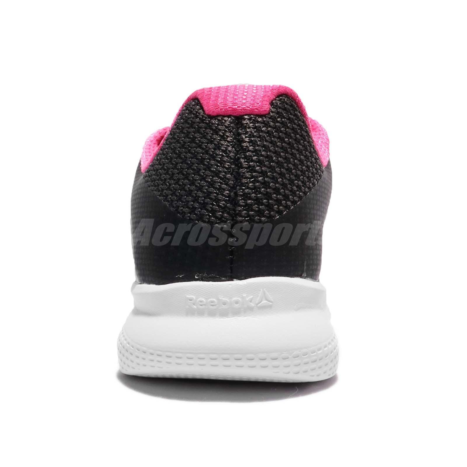 db3369b061d6 Reebok Instalite Run Black White Pink Women Running Shoes Sneakers ...