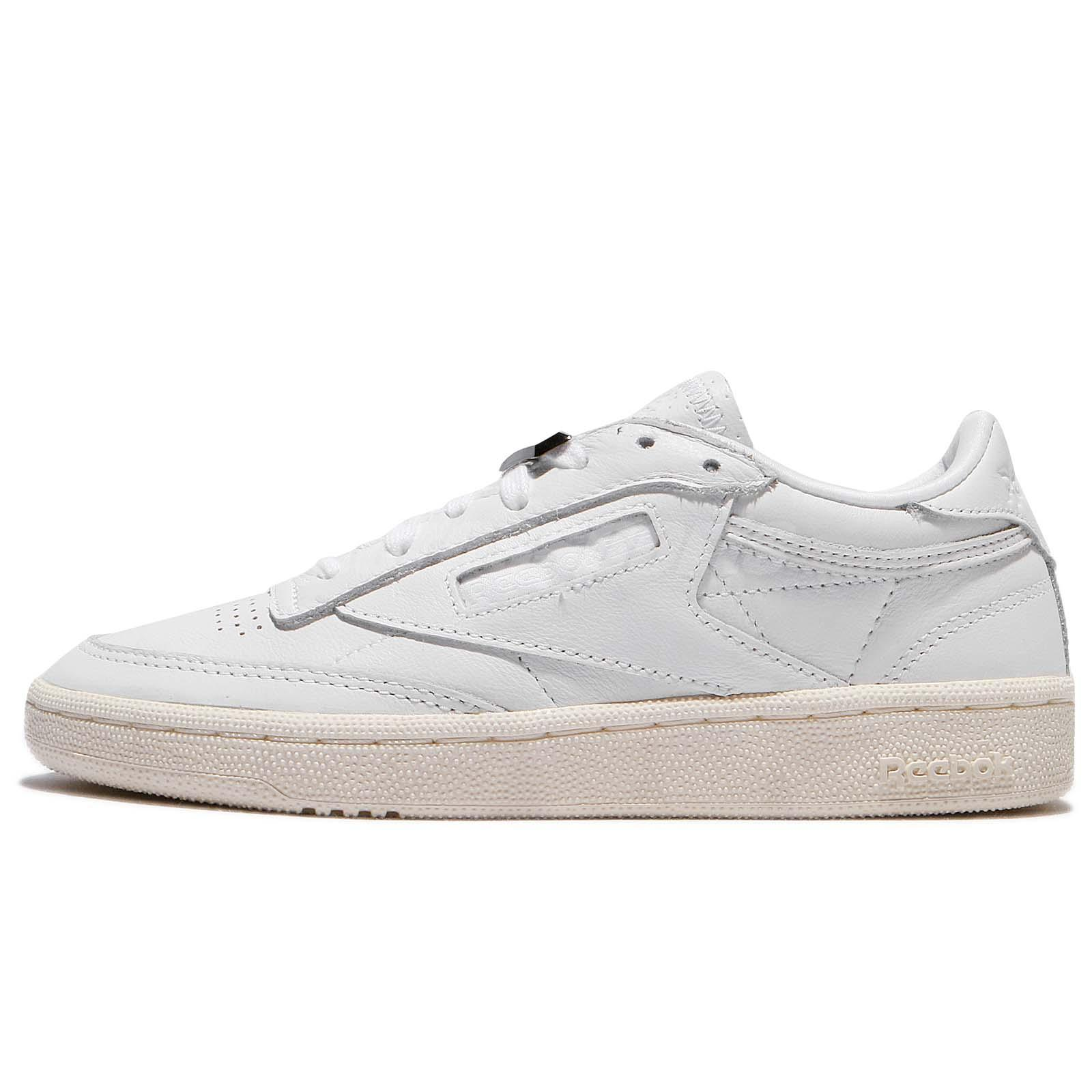 bbfb2172025 Reebok Club C 85 Hardware White Chalk Women Shoes Sneakers Trainers BS9595