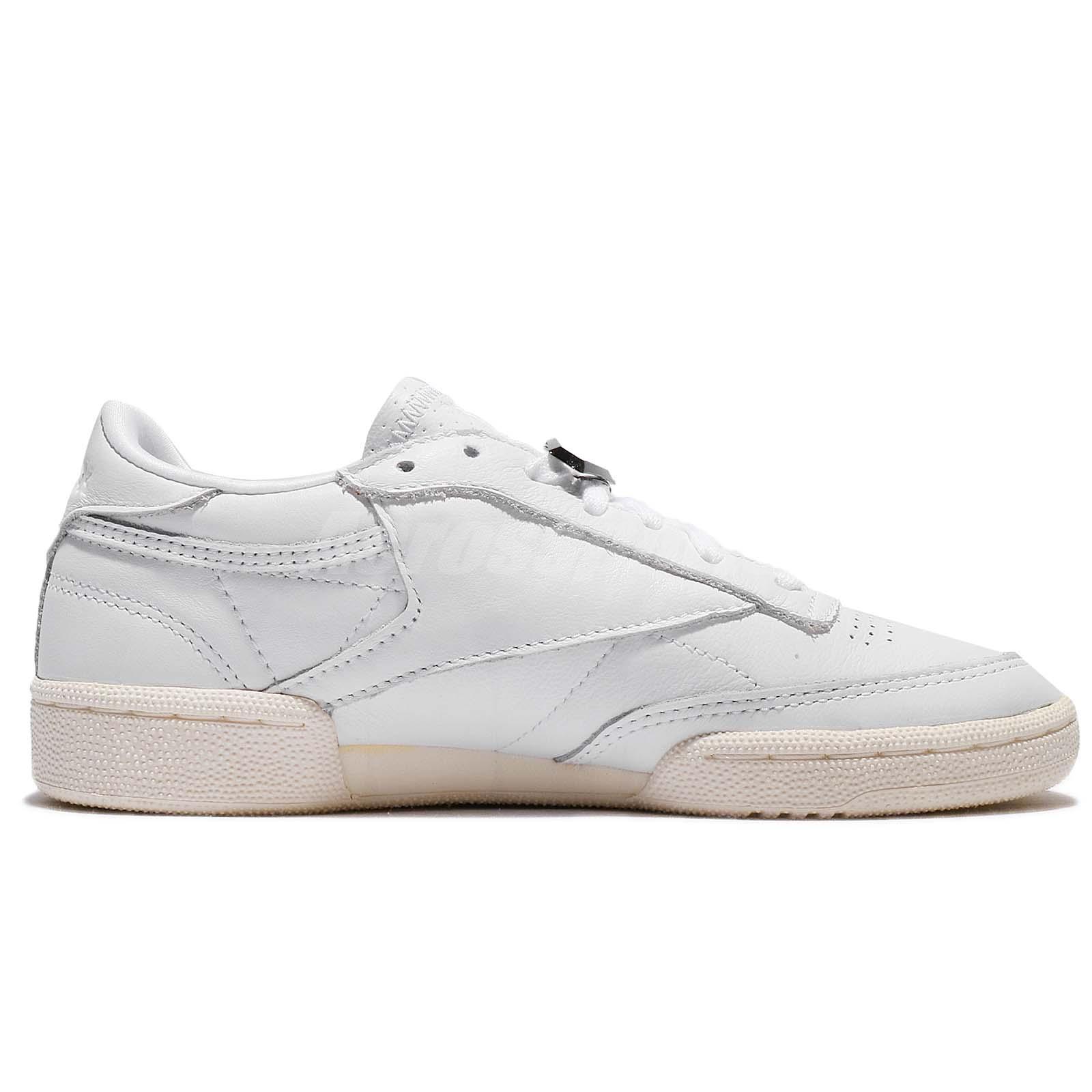 b81408ffe9a Reebok Club C 85 Hardware White Chalk Women Shoes Sneakers Trainers ...