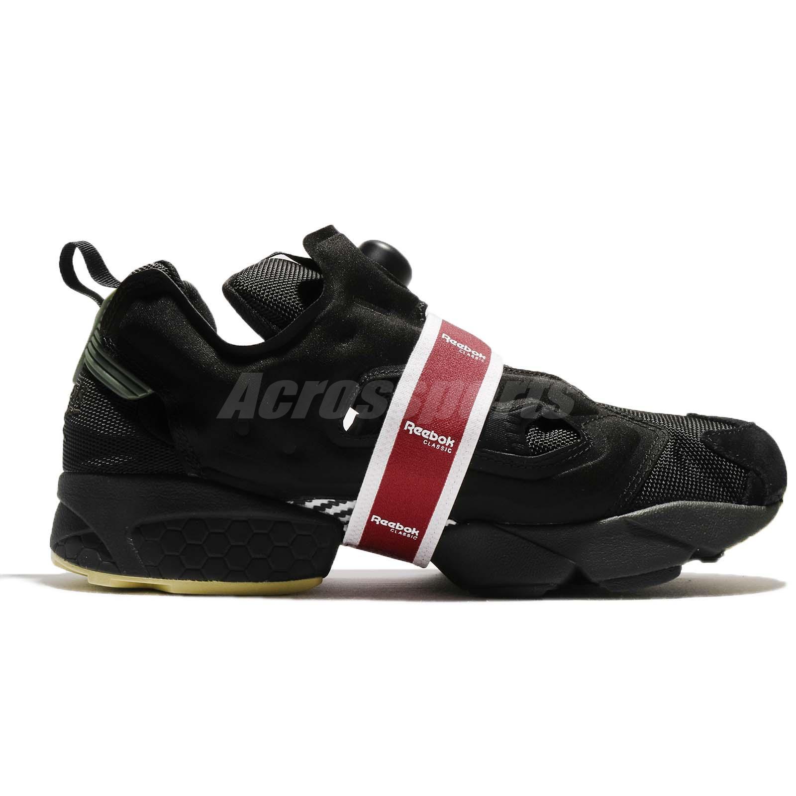c9a246f91249 Reebok Instapump Fury OG MB Black Coal Red Men Running Shoes ...