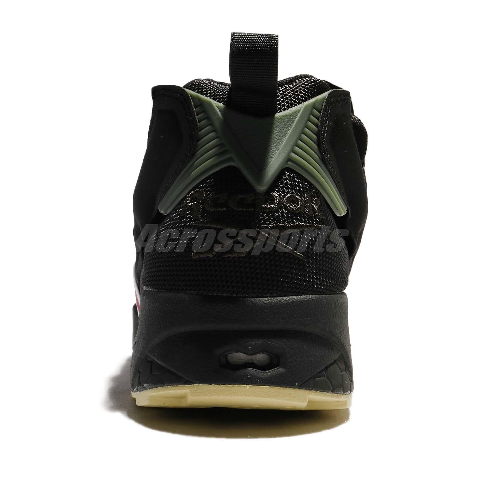 cafd7a6772f1 Reebok Instapump Fury OG MB Black Coal Red Men Running Shoes ...