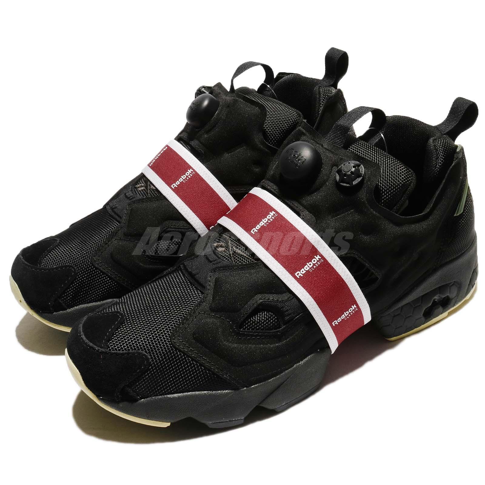 Details about Reebok Instapump Fury OG MB Black Coal Red Men Running Shoes  Sneakers BS9730 b3b317cd7