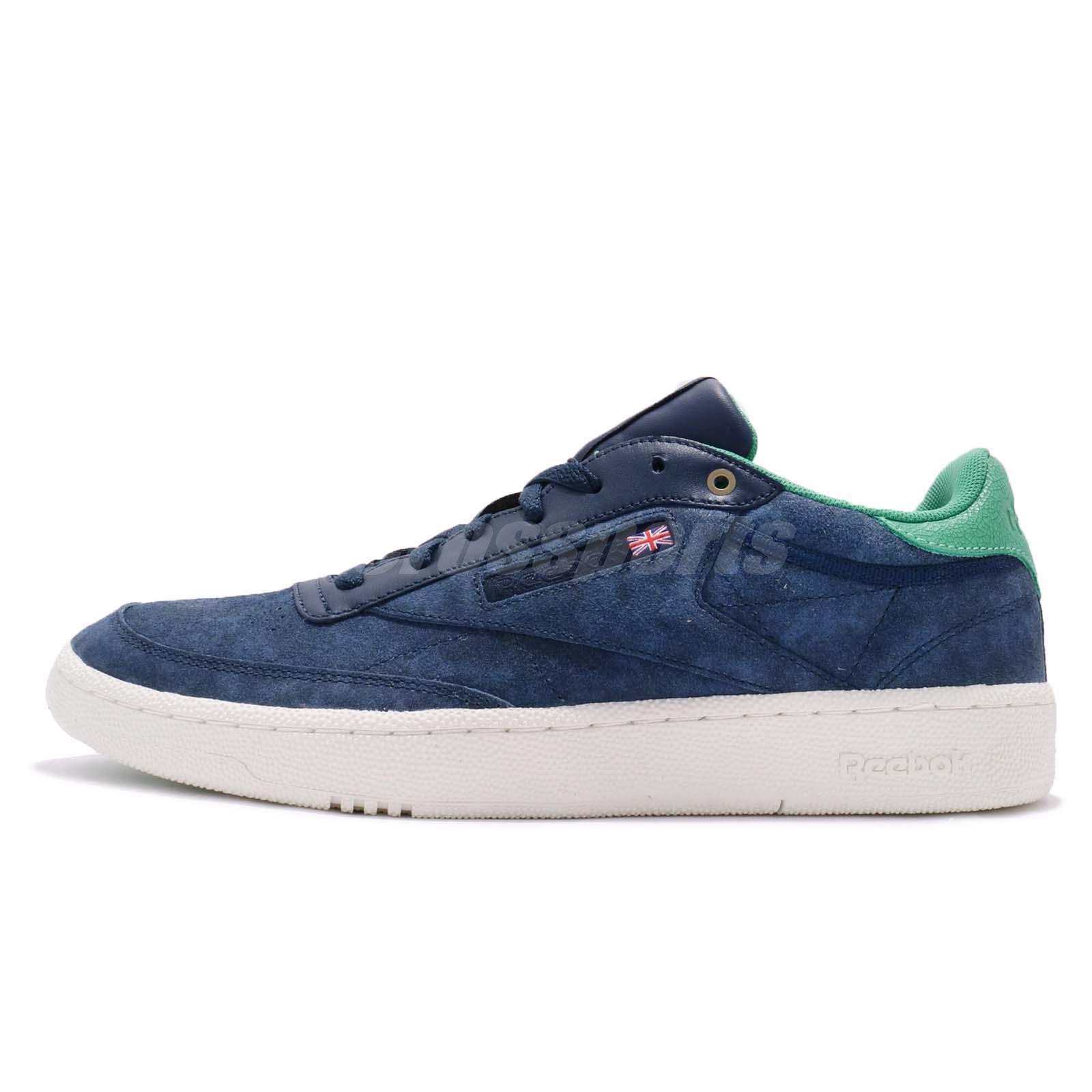 5dbd98c8a1a0d Montana Cans x Reebok Club C 85 PRO MCCE Blue Note Ultramarine Men Shoes  CM9271