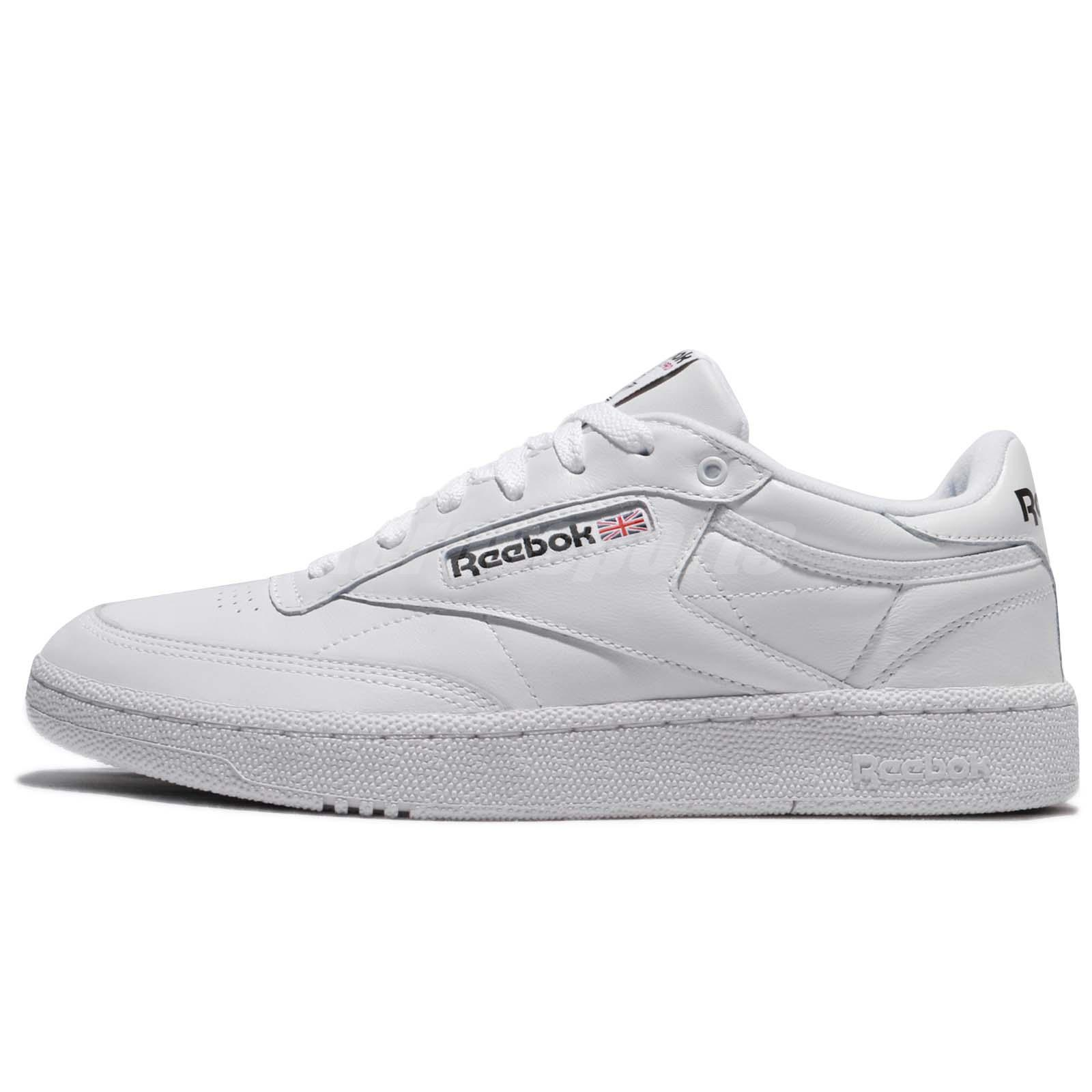 Reebok Club C 85 Pro Leather White Classic Men Shoes Sneakers Trainers  CM9430 cc0b423ba