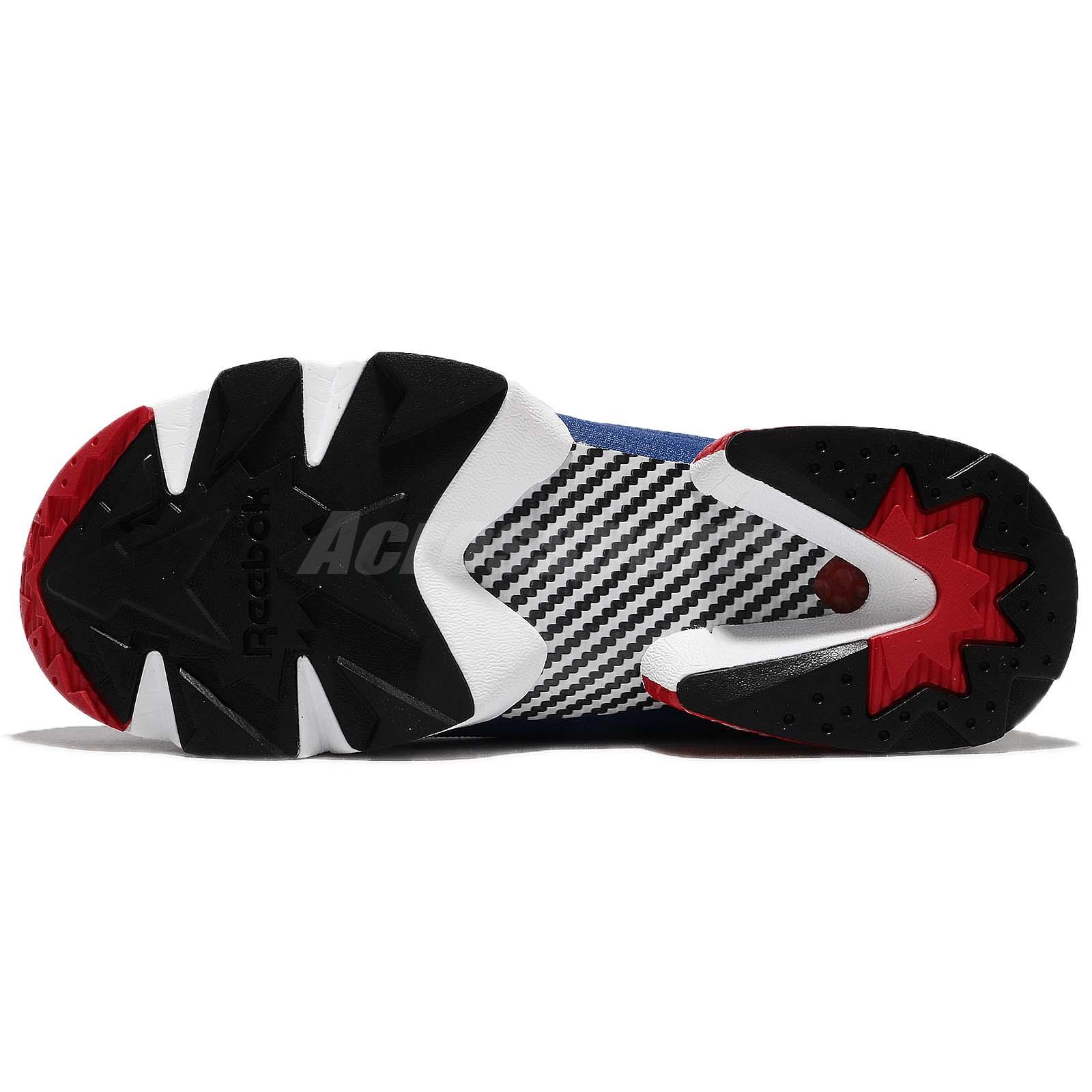 f3a4f3f764ad ... coupon for details about reebok instapump fury og ultk ultraknit black  blue red men running shoes