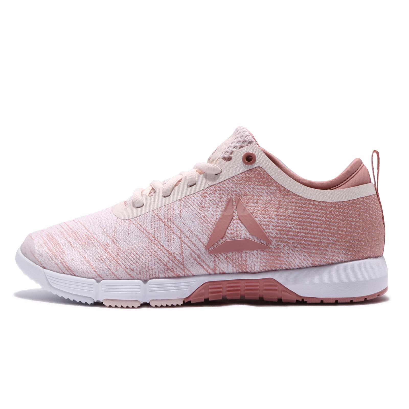 Reebok Speed Her TR Pale Pink White Women Cross Training Shoes Trainers  CN0993